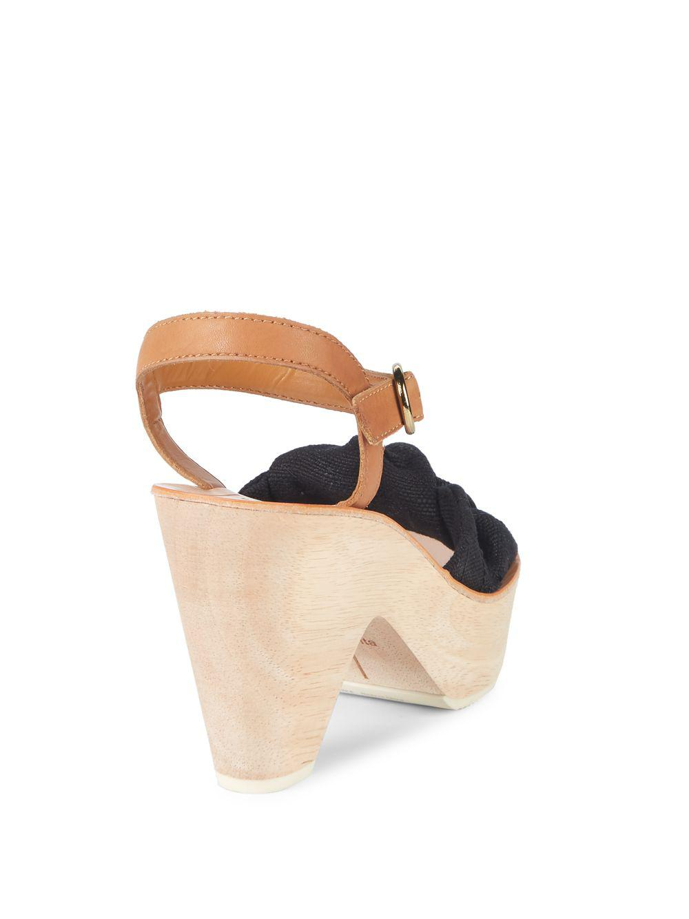 b88f43675fb Lyst - Dolce Vita Shia Knotted Sandals - Save 37%
