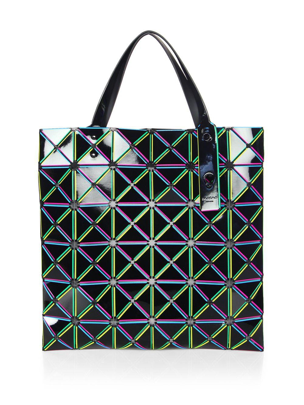 86a650532394 Lyst - Bao Bao Issey Miyake Lucent Comet Tote in Black - Save 40%