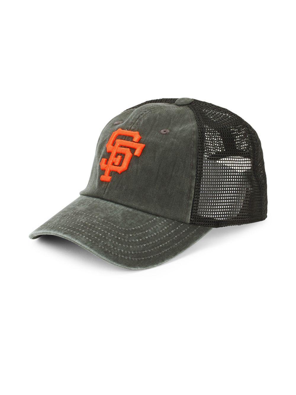 8886f2e5cf8 Lyst - American Needle Embroidered Logo Cotton Baseball Cap in Black ...