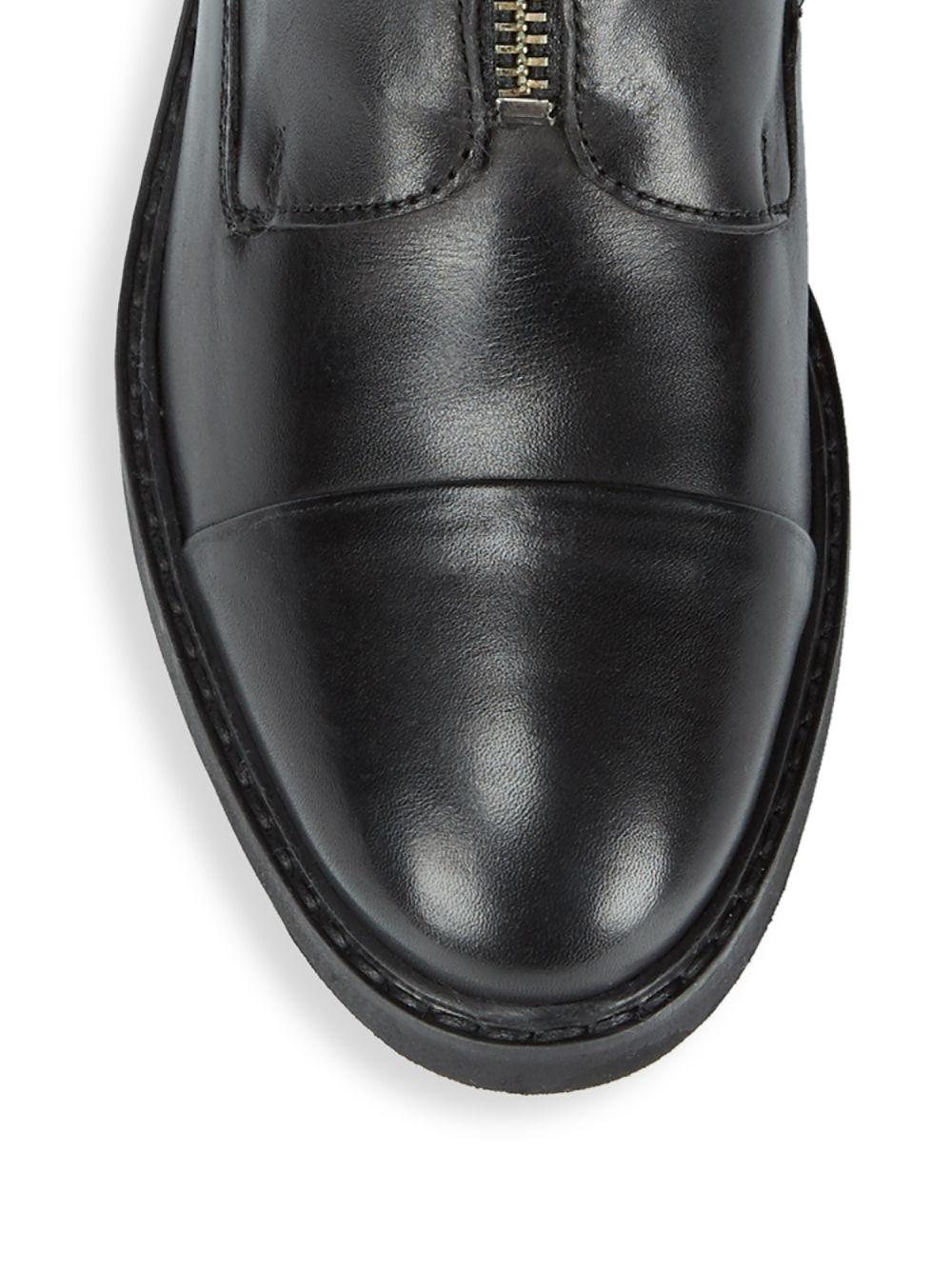 Seychelles Leather Baron Classic Ankle Boots in Black