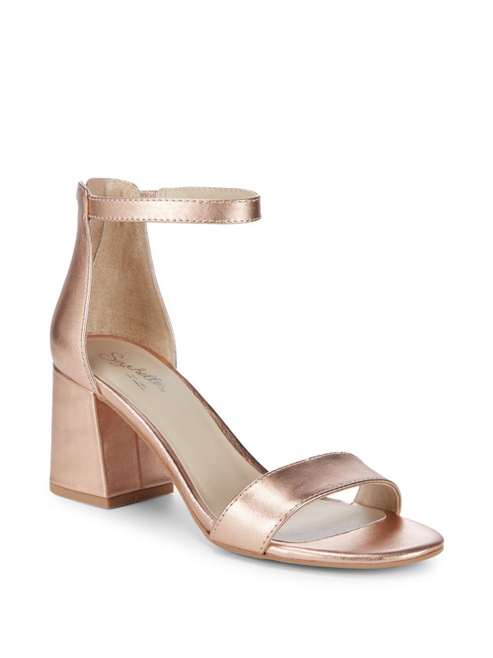 b7c04bad4a1 Seychelles. Women s Pandemonium Leather Ankle-strap Sandals