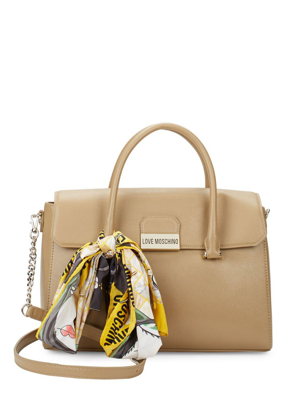 Discount Very Cheap Really Online Moschino Fold over satchel Discount Footaction Free Shipping Prices Clearance Online 384CEa