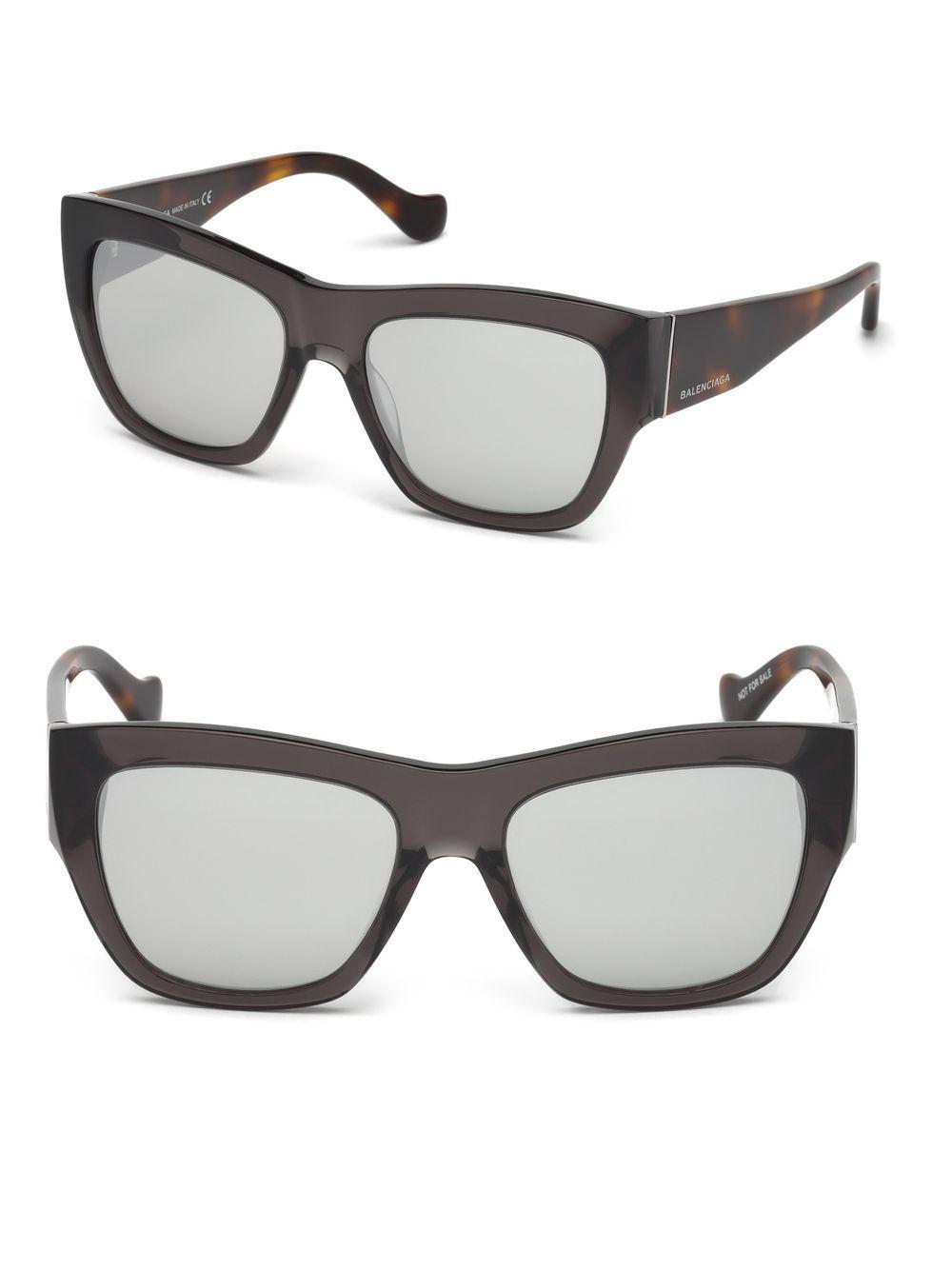 db8eee07415 Balenciaga - Gray Marcolin 56mm Mirrored Square Sunglasses for Men - Lyst.  View fullscreen