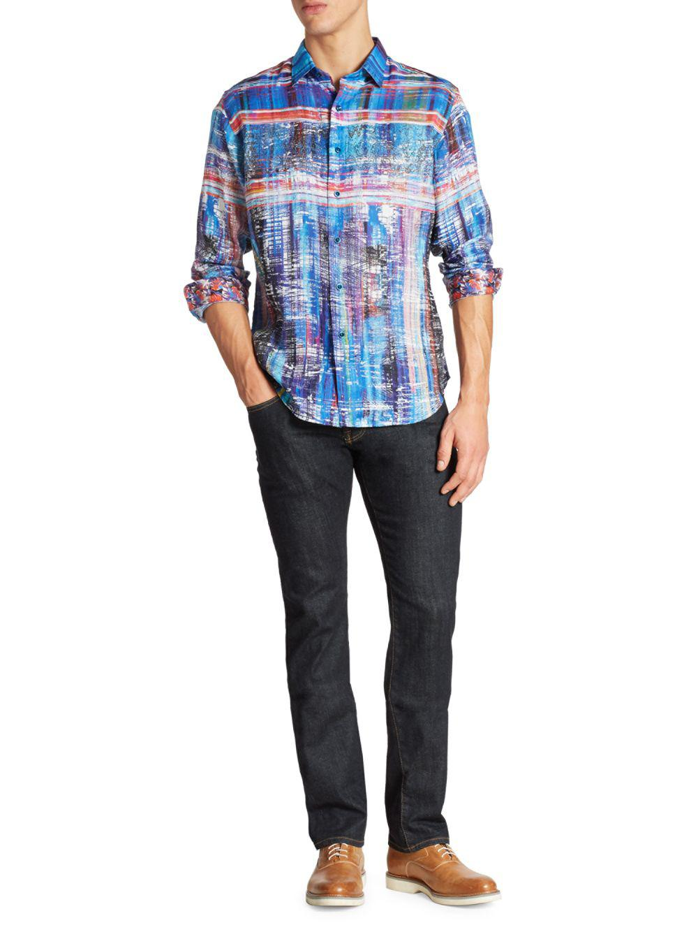 Large Mountain Khakis Mens Lundy Flannel Shirt Twilight