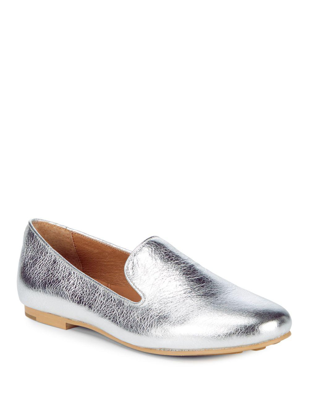 Eugene Metallic Leather Slip-on Loafer Gentle Souls ztY1as