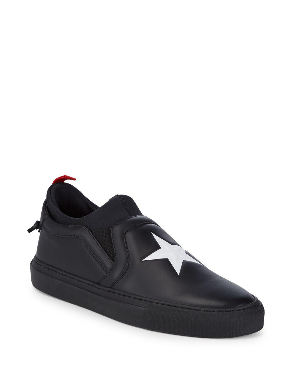 star embossed slip-on sneakers - Black Givenchy GCasMp4UL