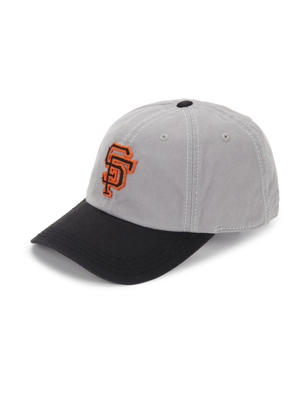 Lyst - Red Jacket San Francisco Giants Cotton Baseball Cap in Gray ... 836022898