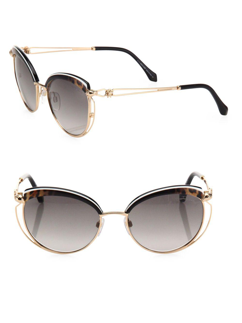 b817b9c43b Lyst - Oliver Peoples Gregory Peck 47mm Round Sunglasses in Red