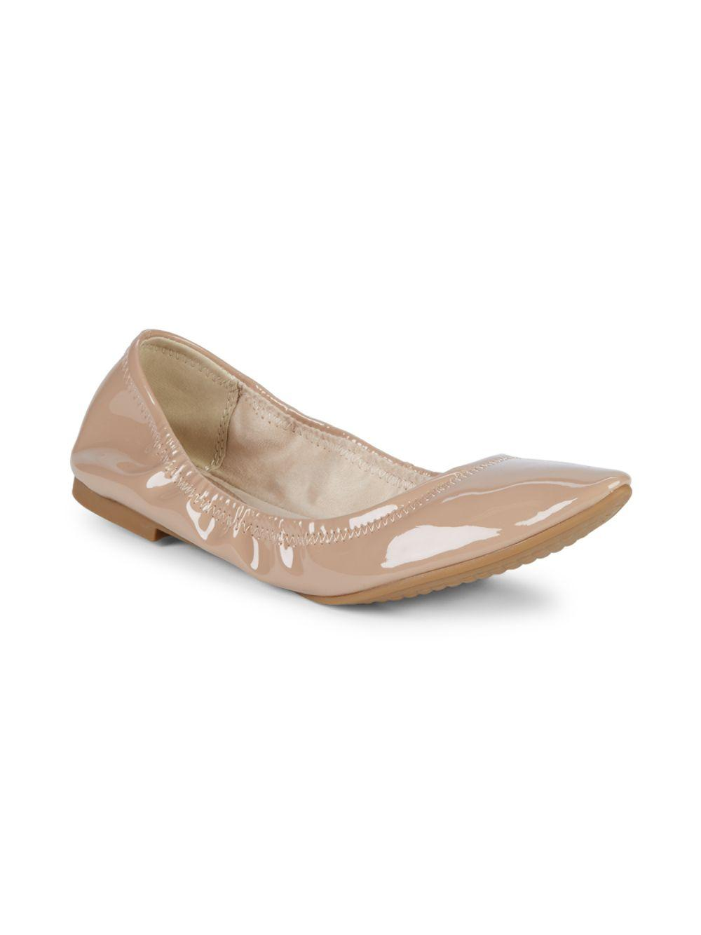 917473c7d13e20 BCBGeneration - Natural Classic Patent Leather Ballet Flats - Lyst. View  fullscreen