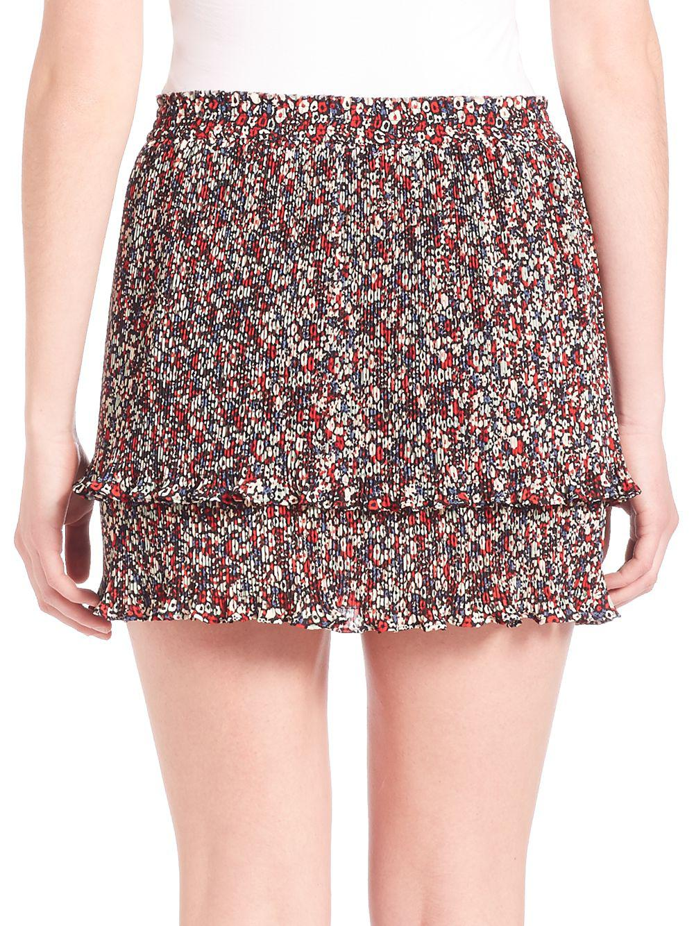 89922da9be 10 Crosby Derek Lam - Multicolor Pleated Two-in-one Camisole & Skirt -.  View fullscreen