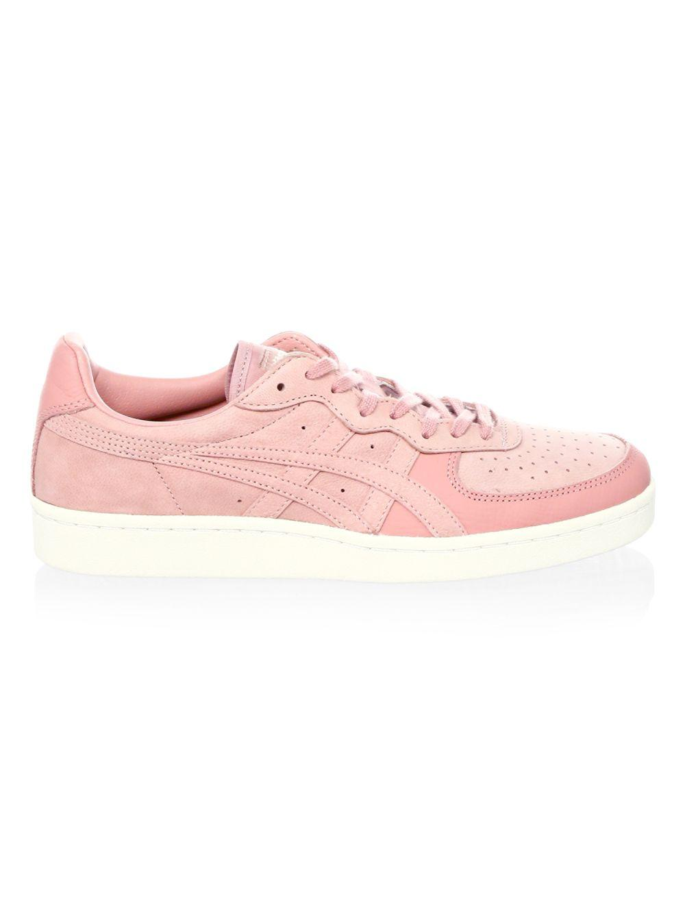 best service 598d8 a22dc Onitsuka Tiger Gsm Low-top Suede Sneakers in Pink for Men - Lyst