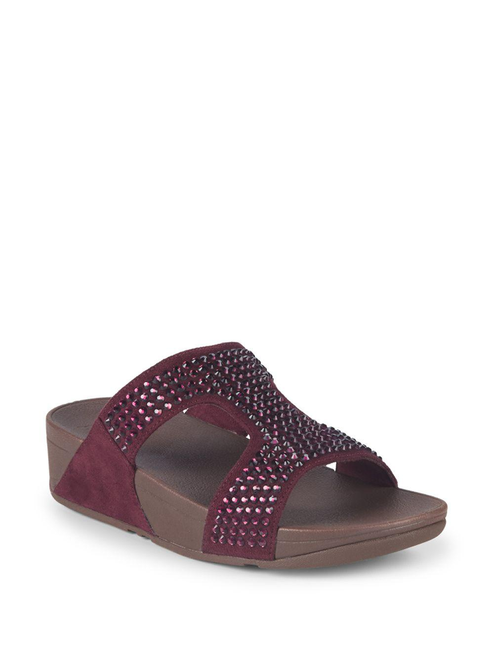 6aae55cc8968 Fitflop. Women s Glitzie Slide Sandals