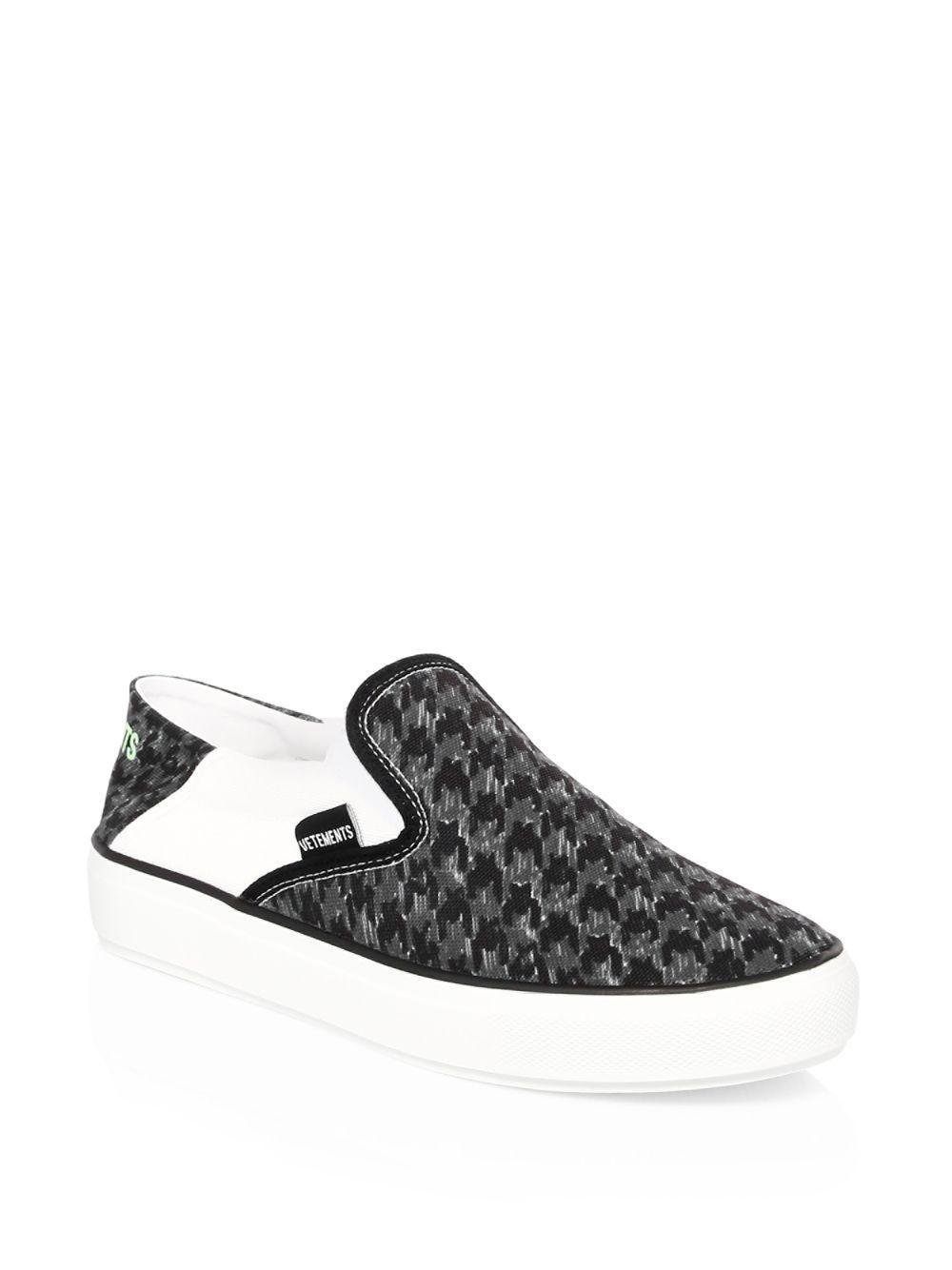 Vetements Canvas Slip-on Sneaker in