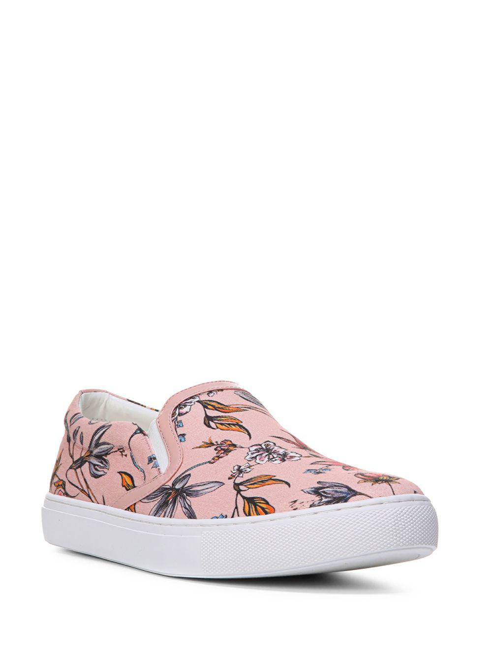 b71279955d8a14 Lyst - Sam Edelman Pixie Floral-print Slip-on Sneakers in Pink