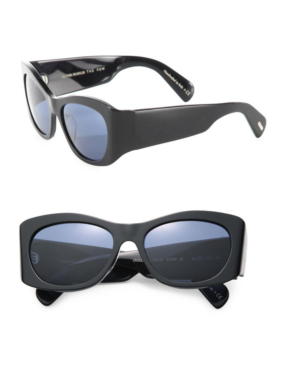 840791c424 Oliver Peoples Don t Bother Me 54mm Cat Eye Sunglasses in Black for ...