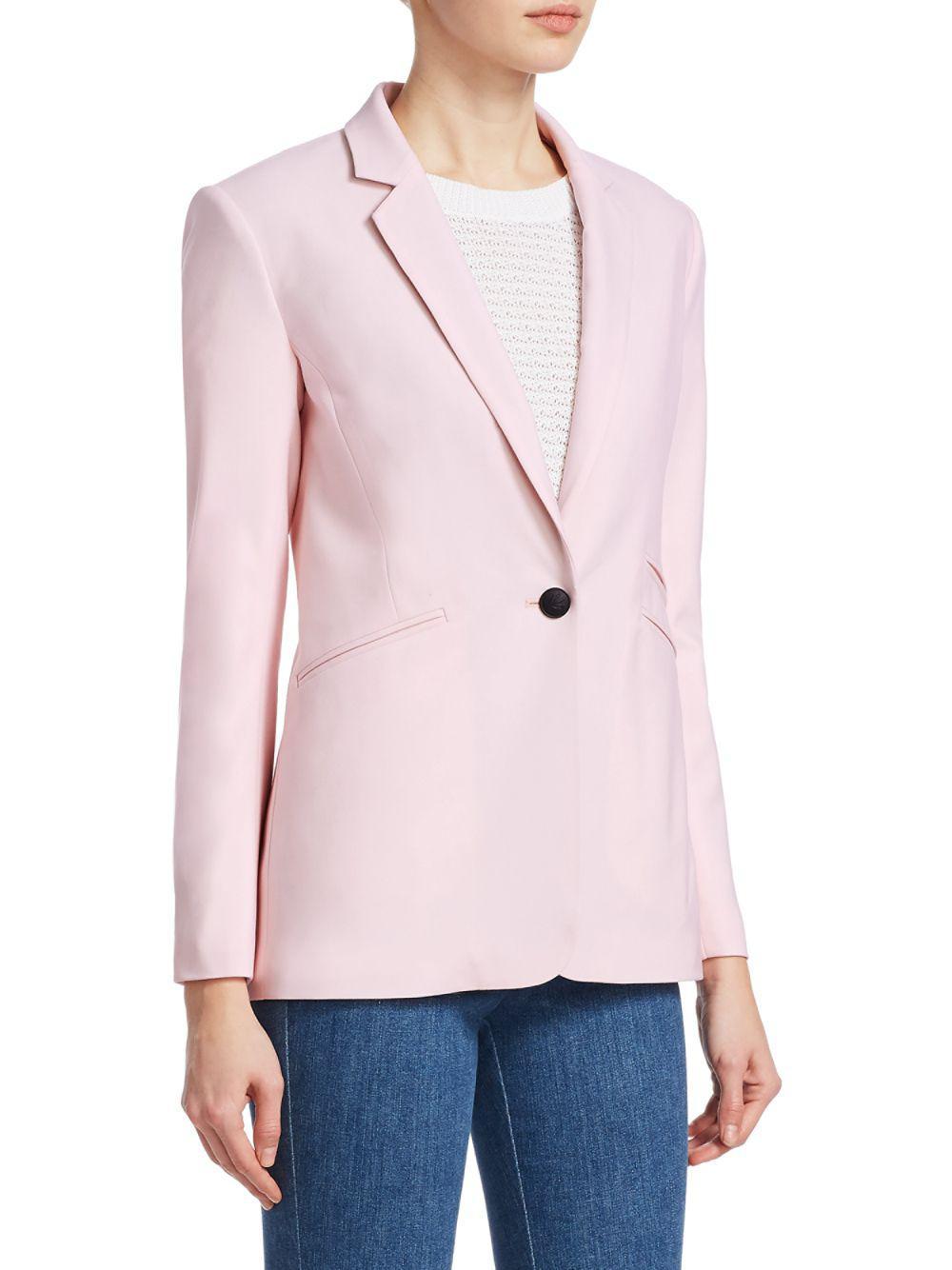 Rag & Bone Ridley Wool-blend Blazer in Baby Pink (Pink)