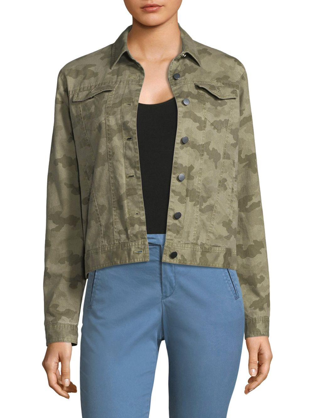cf8416f3a9396 ATM Camo Jean Jacket in Green - Save 24% - Lyst