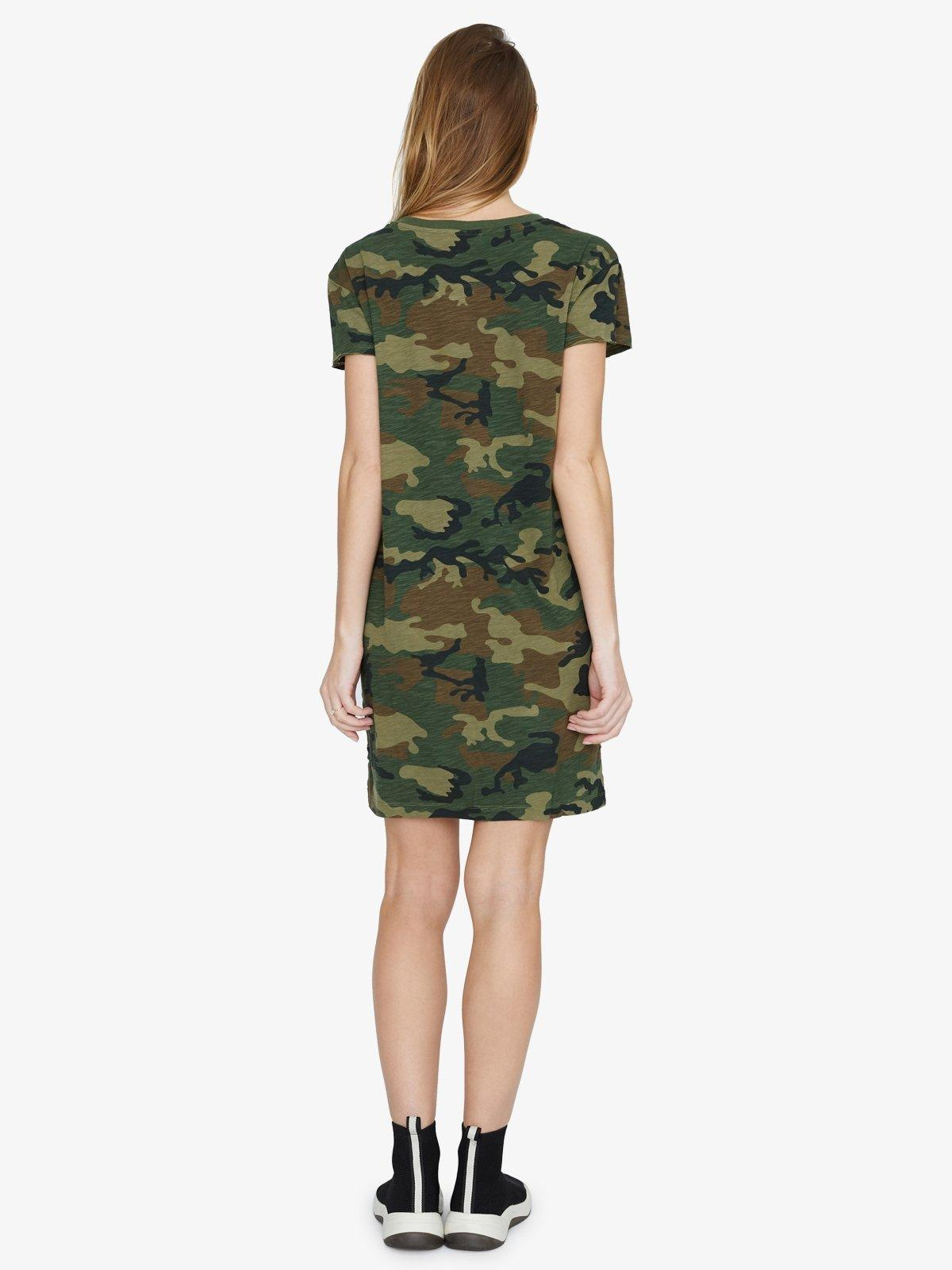 915f207a207f Lyst - Sanctuary Clothing One Pocket T-shirt Dress in Green