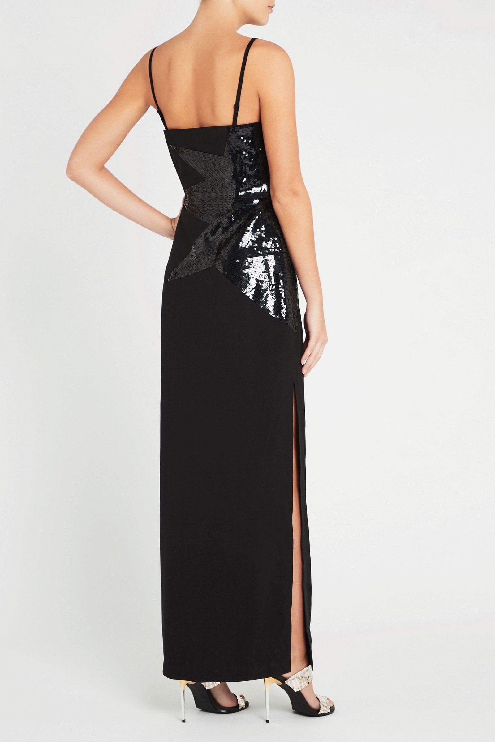 0796acfe Sass & Bide - Black Star Street Sequin Dress - Lyst. View fullscreen