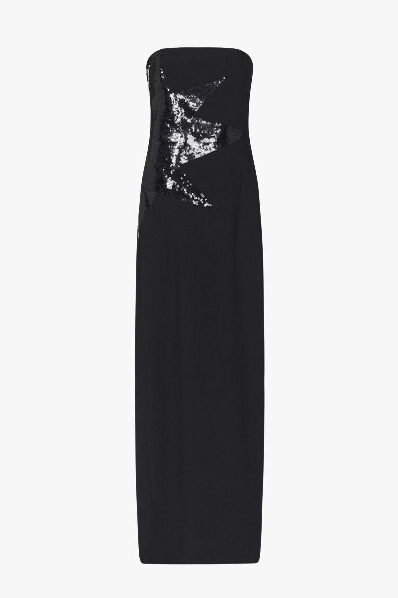 Sass Bide Synthetic Star Street Sequin Dress In Black Lyst