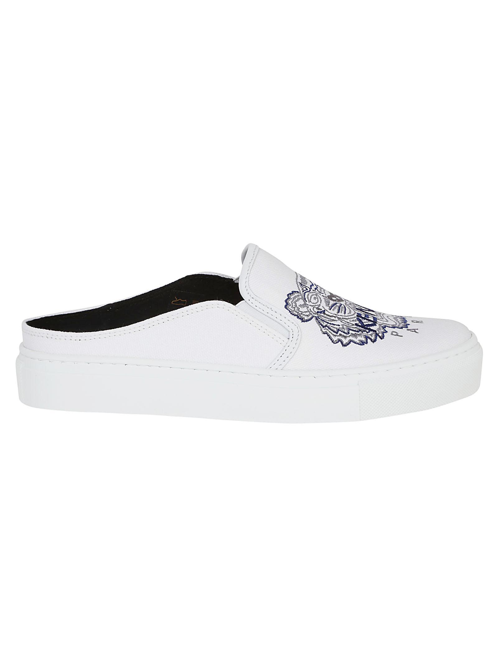 209d60c197 KENZO Multicolor K-skate Mule Sneakers Tiger