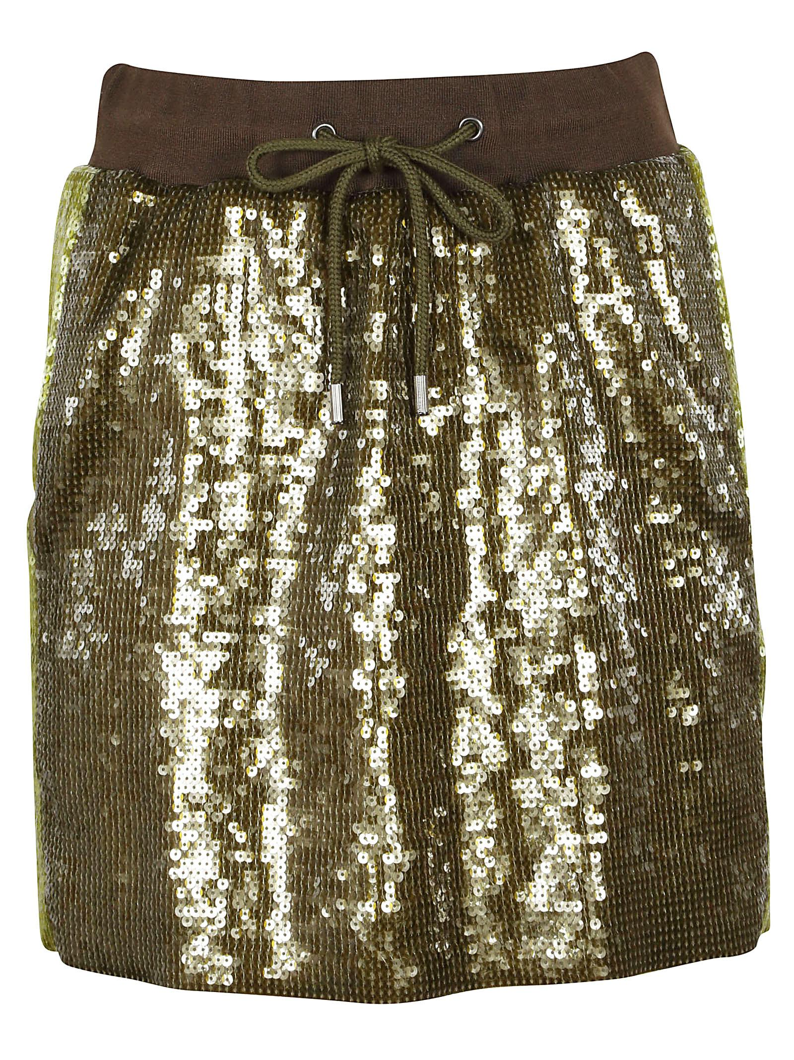 Alberta Ferretti side stripe sequin mini skirt Buy Cheap New Arrival Outlet Cheap Quality bT1TNZf