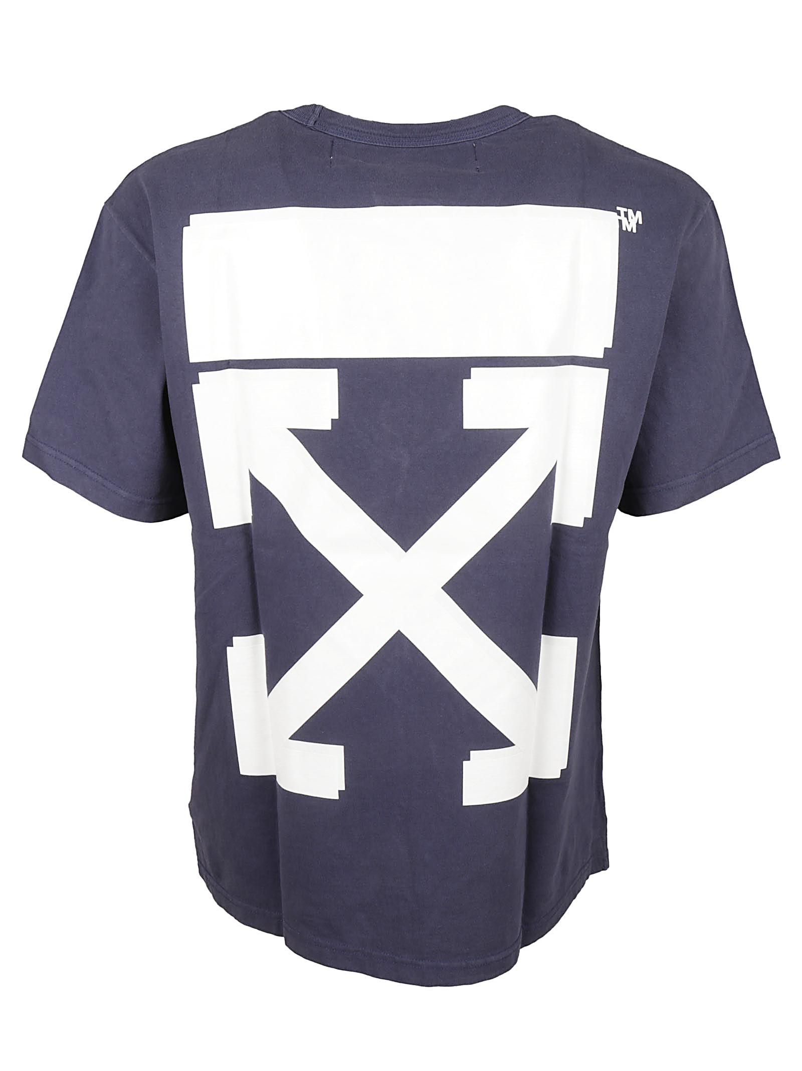 5c17078d Off-White c/o Virgil Abloh Champion Tee Dusty Blue White in Blue for ...