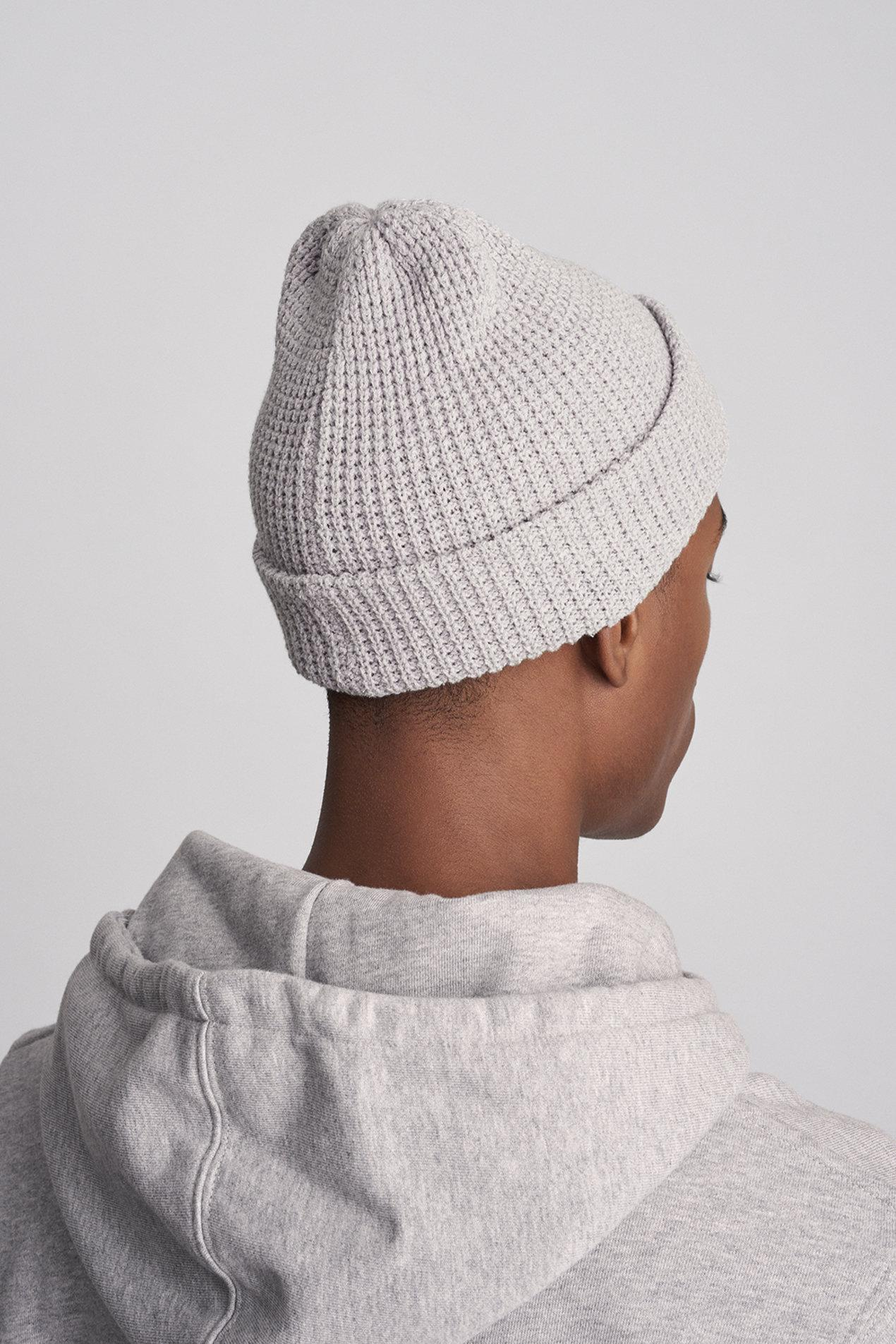b53db8a4c Saturdays NYC Multicolor Waffle Crepe Beanie for men
