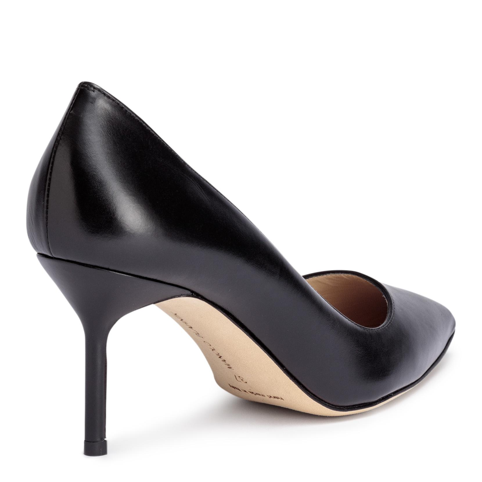 BB70 black suede pump Manolo Blahnik