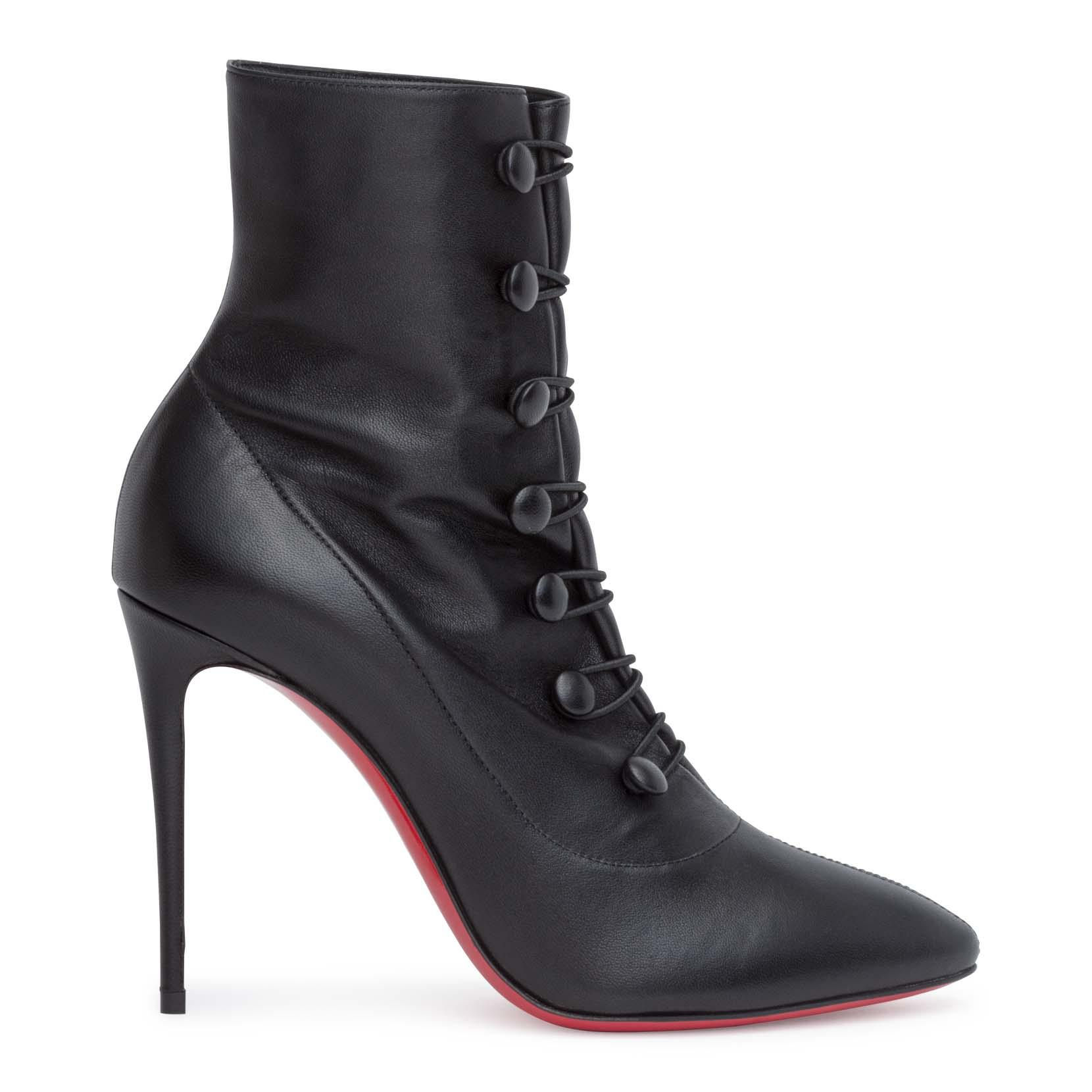 87d026824664 ... promo code for christian louboutin french tutu 100 black booties lyst.  view fullscreen 45a8c a9f70