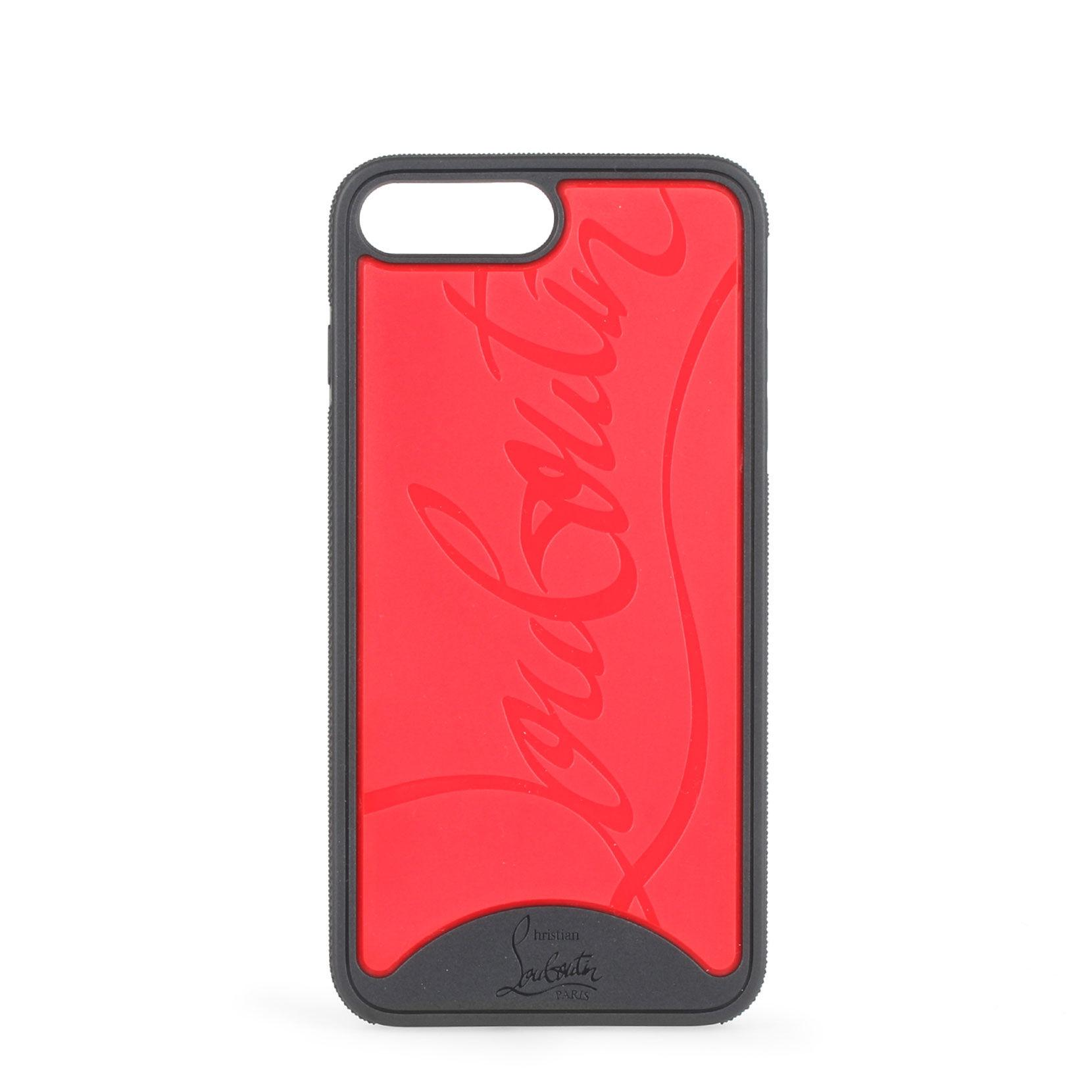 8dfca170a38 Women's Red Loubiphone Iphone 7 And 8 Plus Trainers Style Phone Case