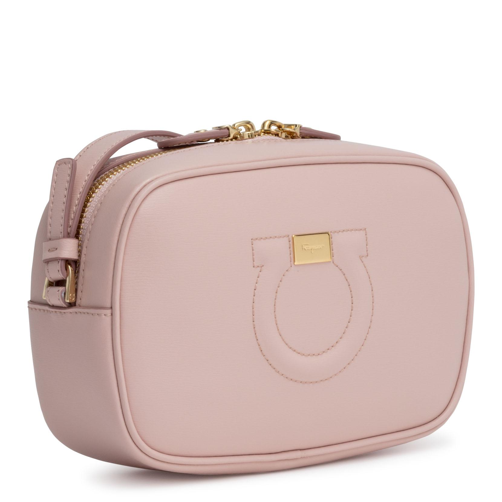 Ferragamo - Gancio City Light Pink Cross Body Bag - Lyst. View fullscreen 5d6cb8b9ee22e