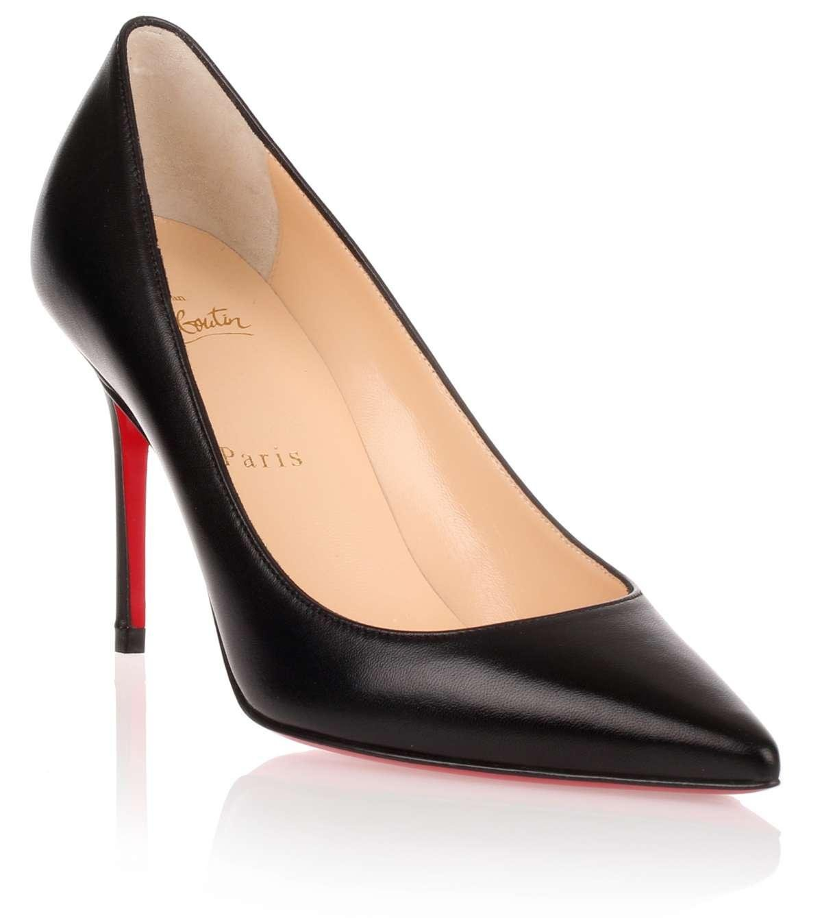 4be5c612c Christian louboutin Decollete Paris Map 70mm Red Sole Pump in White   Lyst