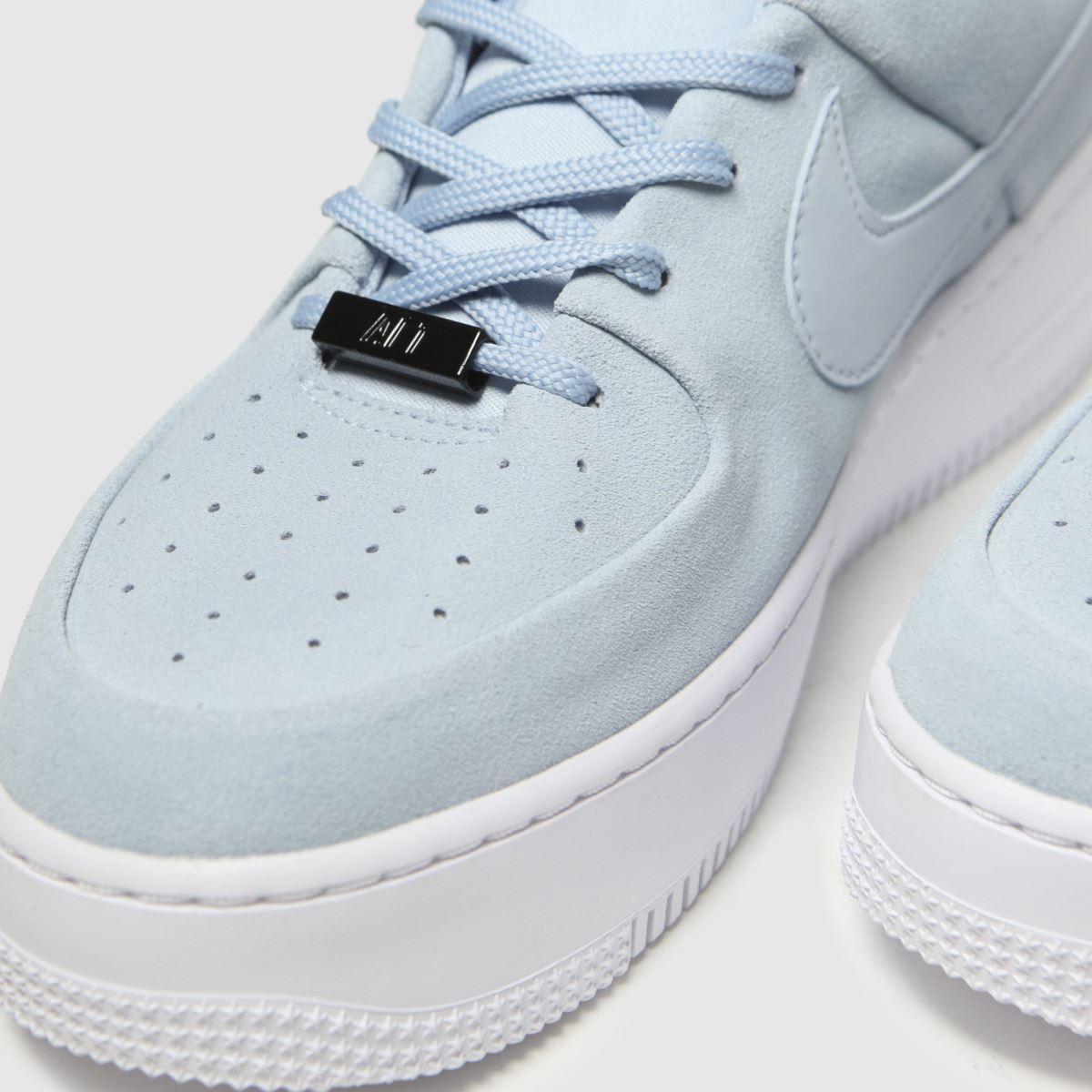 Nike Suede Air Force 1 Sage Low