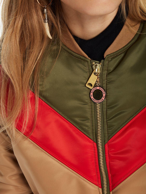 141b8e3c8 Women's Color Block Bomber Jacket