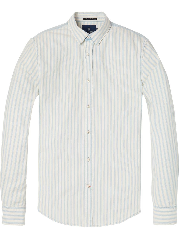 Broadlands Men/'s Printed Dress Shirt-100/% Cotton Casual Slim-Fit Long-Sleeve Shirt