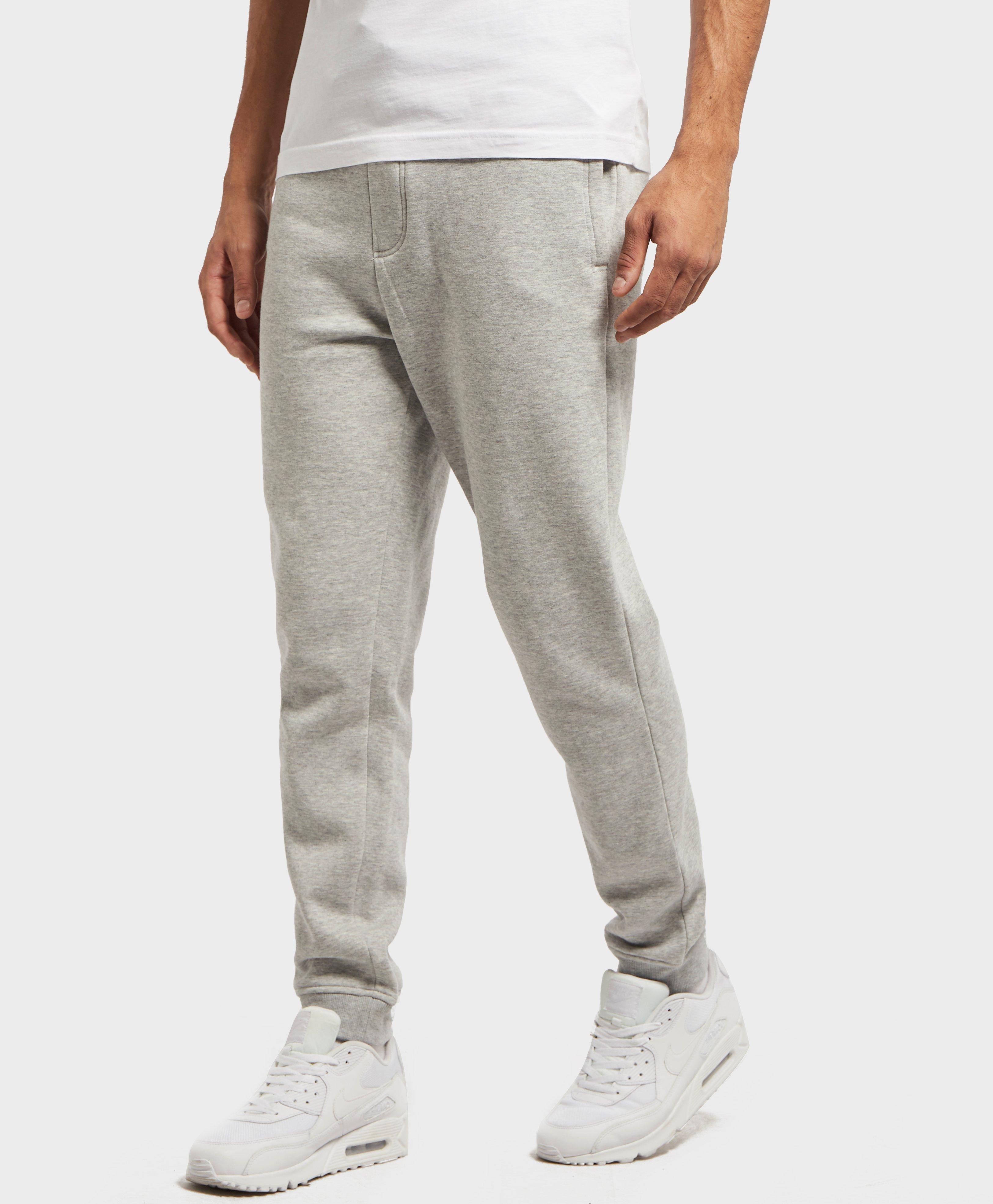 4d465dc8 Lyst - Tommy Hilfiger Tape Waistband Cuffed Fleece Pants in Gray for Men