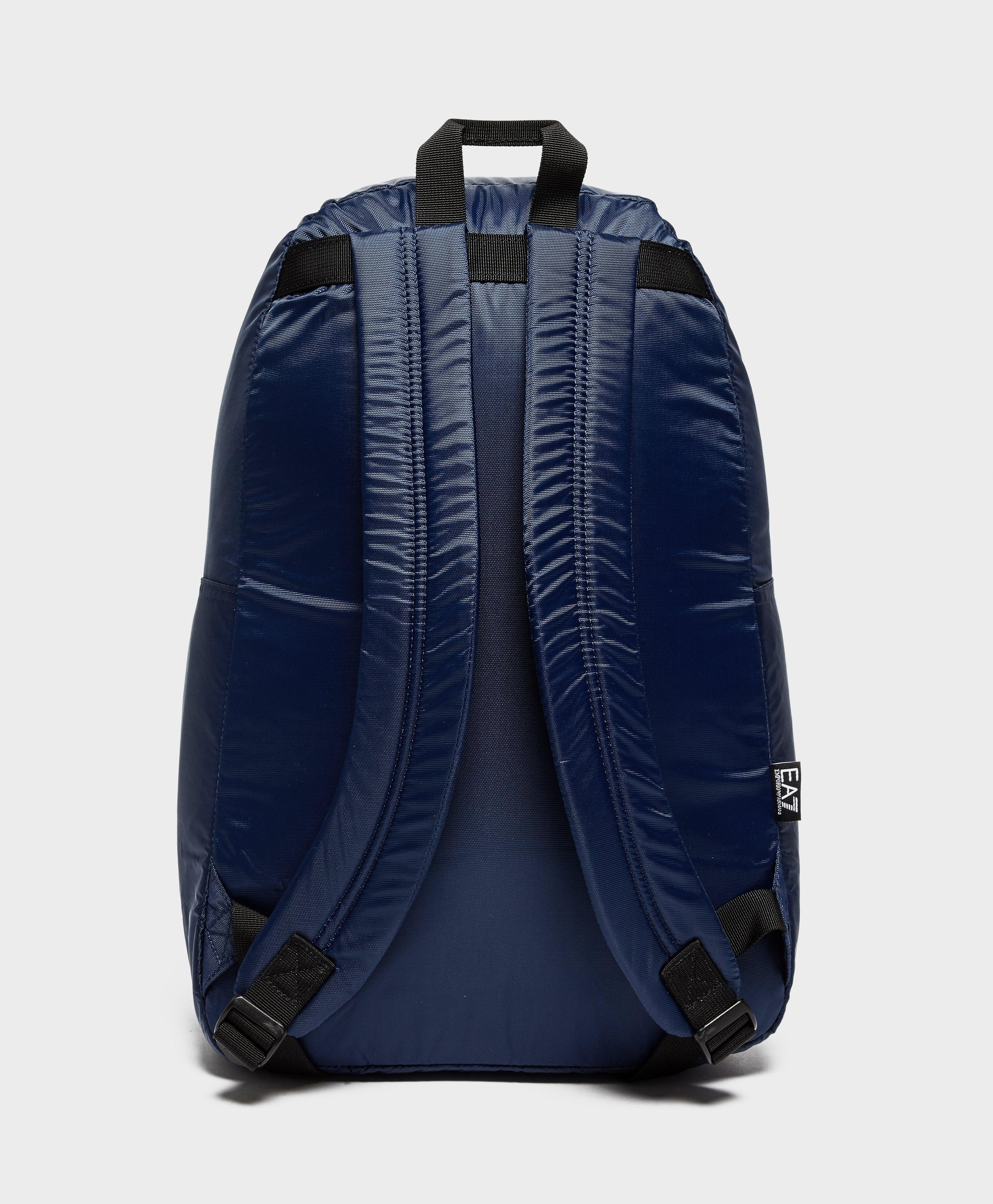 Lyst - EA7 Train Core Backpack in Blue for Men 015c5950bc7c1