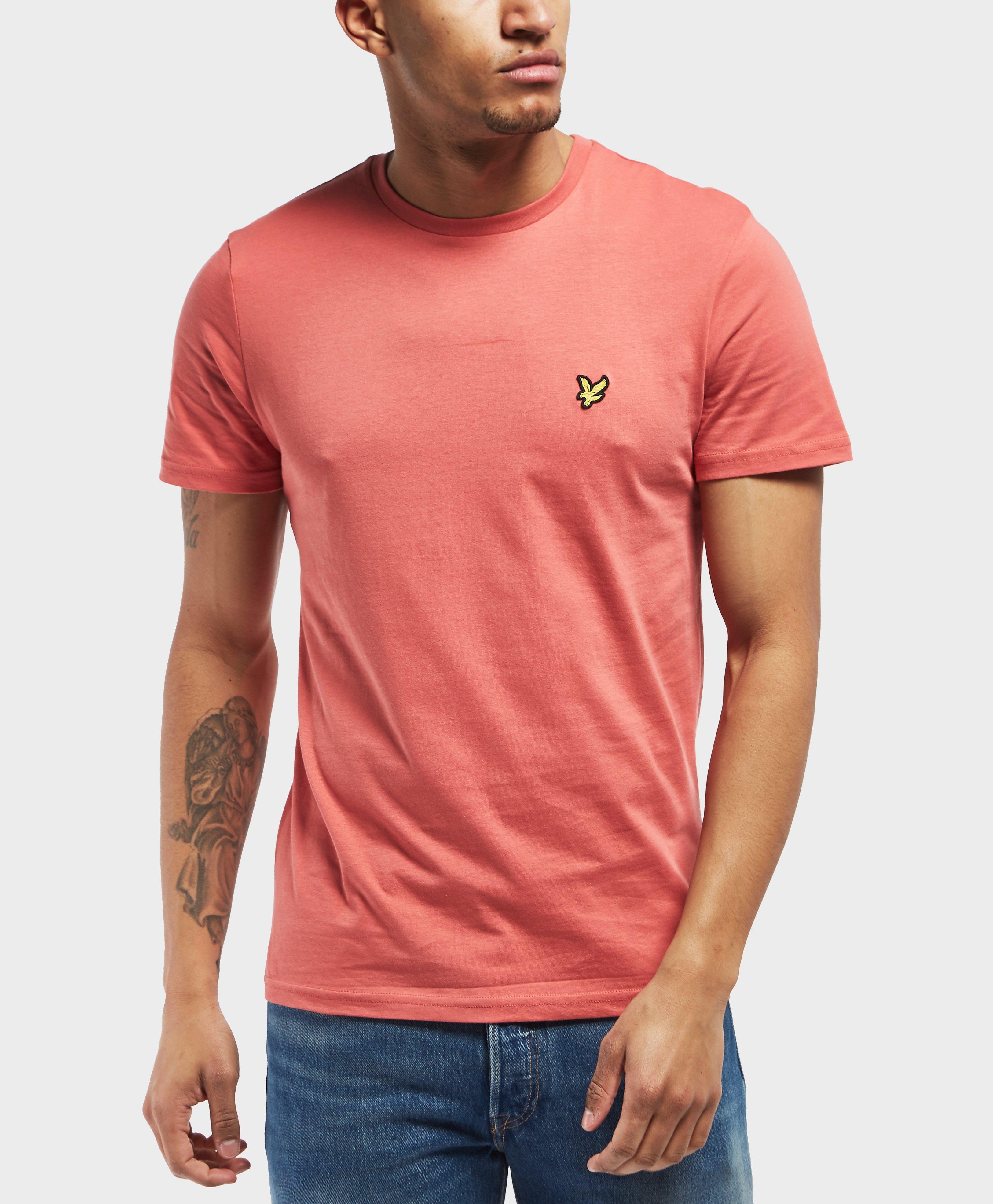 8bed0c7e8 Lyle & Scott Crew Neck Short Sleeve T-shirt for Men - Lyst