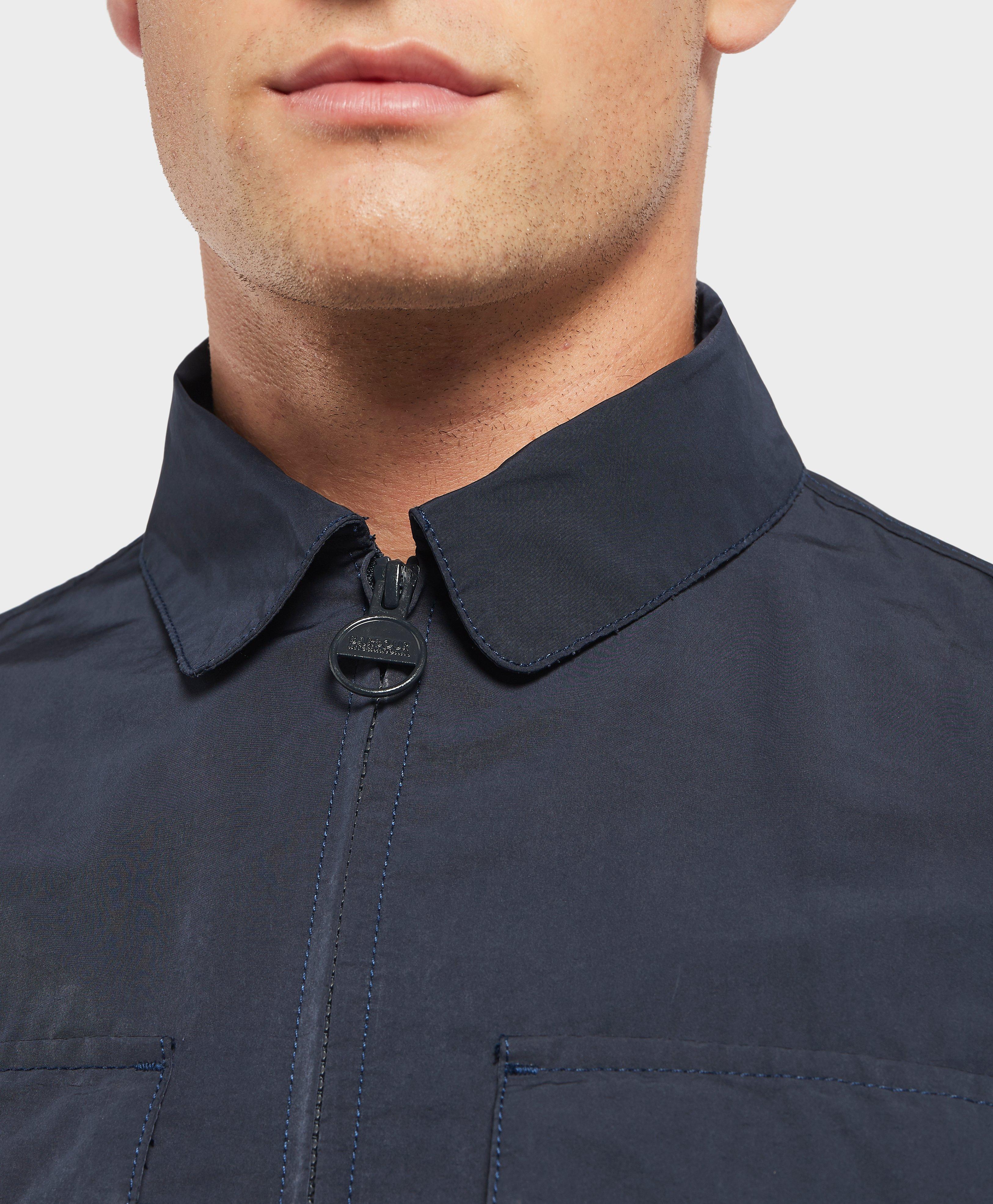 barbour rath overshirt