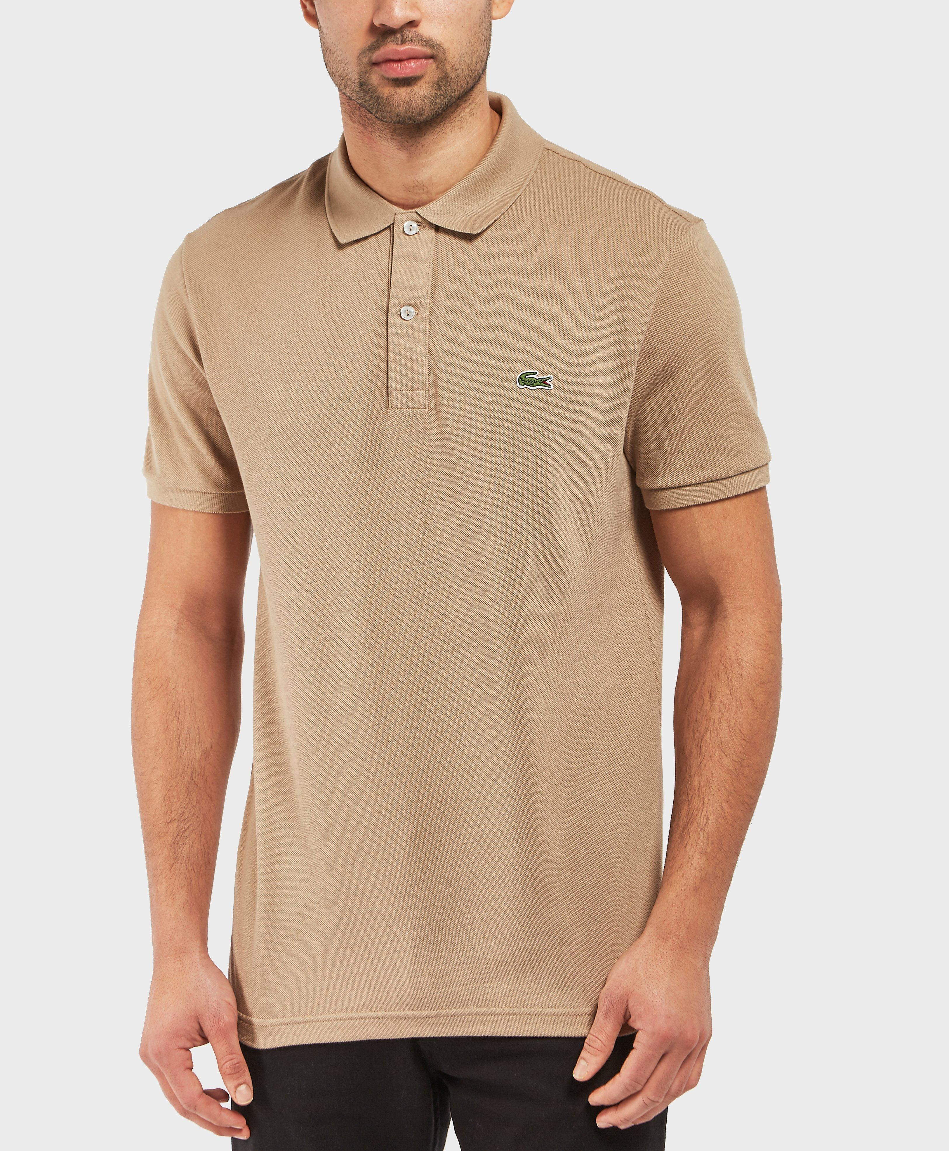 956e11d2921522 Lyst - Lacoste 1212 Slim Short Sleeve Polo Shirt in Natural for Men