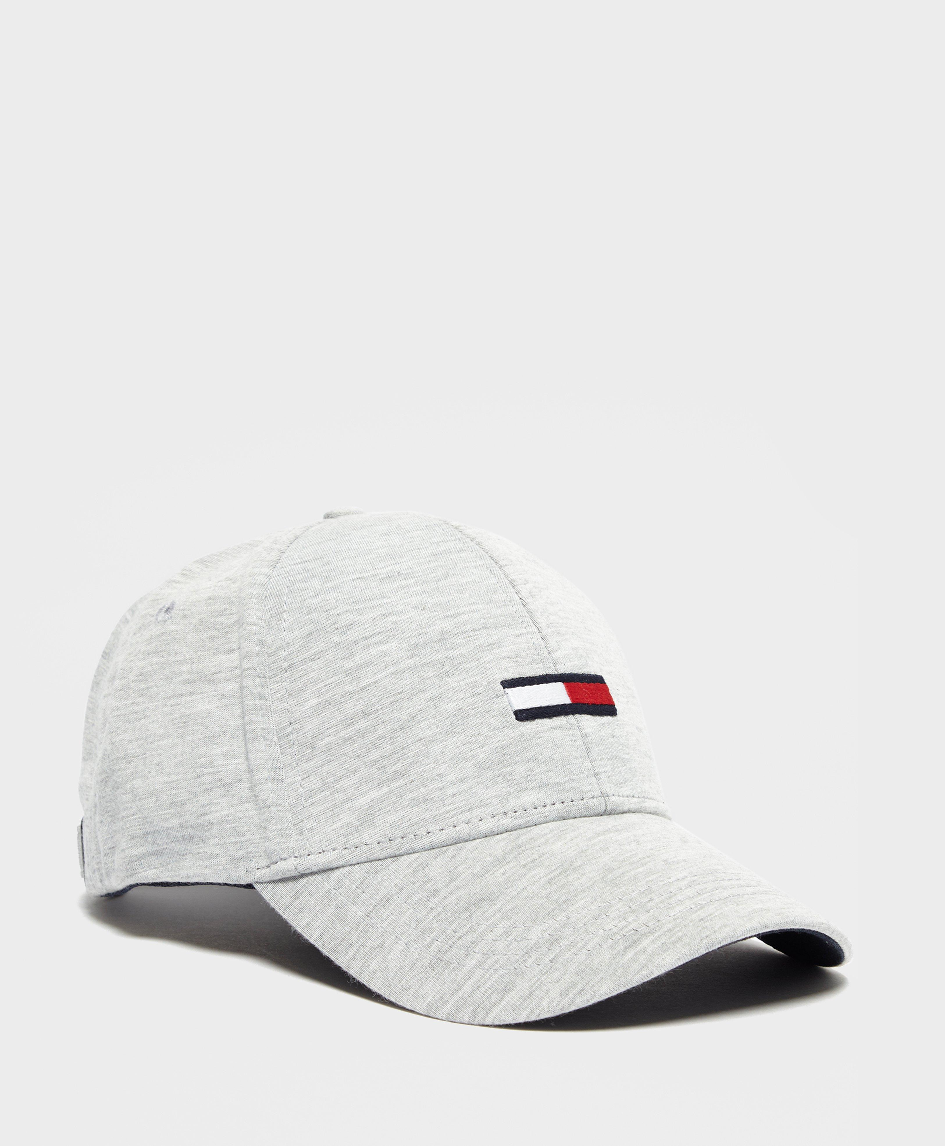 75e2547d8f1 Tommy Hilfiger Jersey Flag Cap in White for Men - Lyst