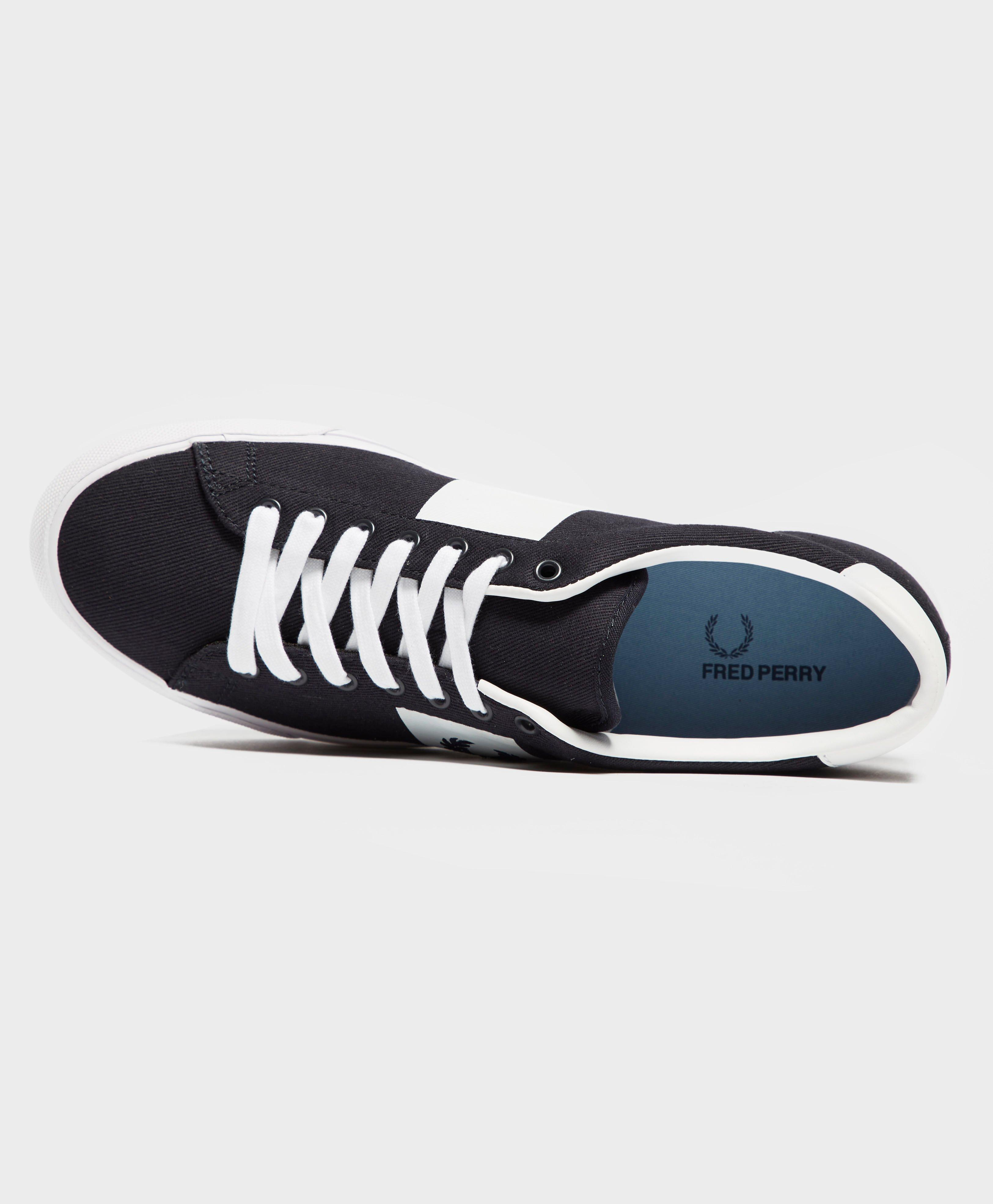 Fred Perry Canvas Underspin in Blue for Men