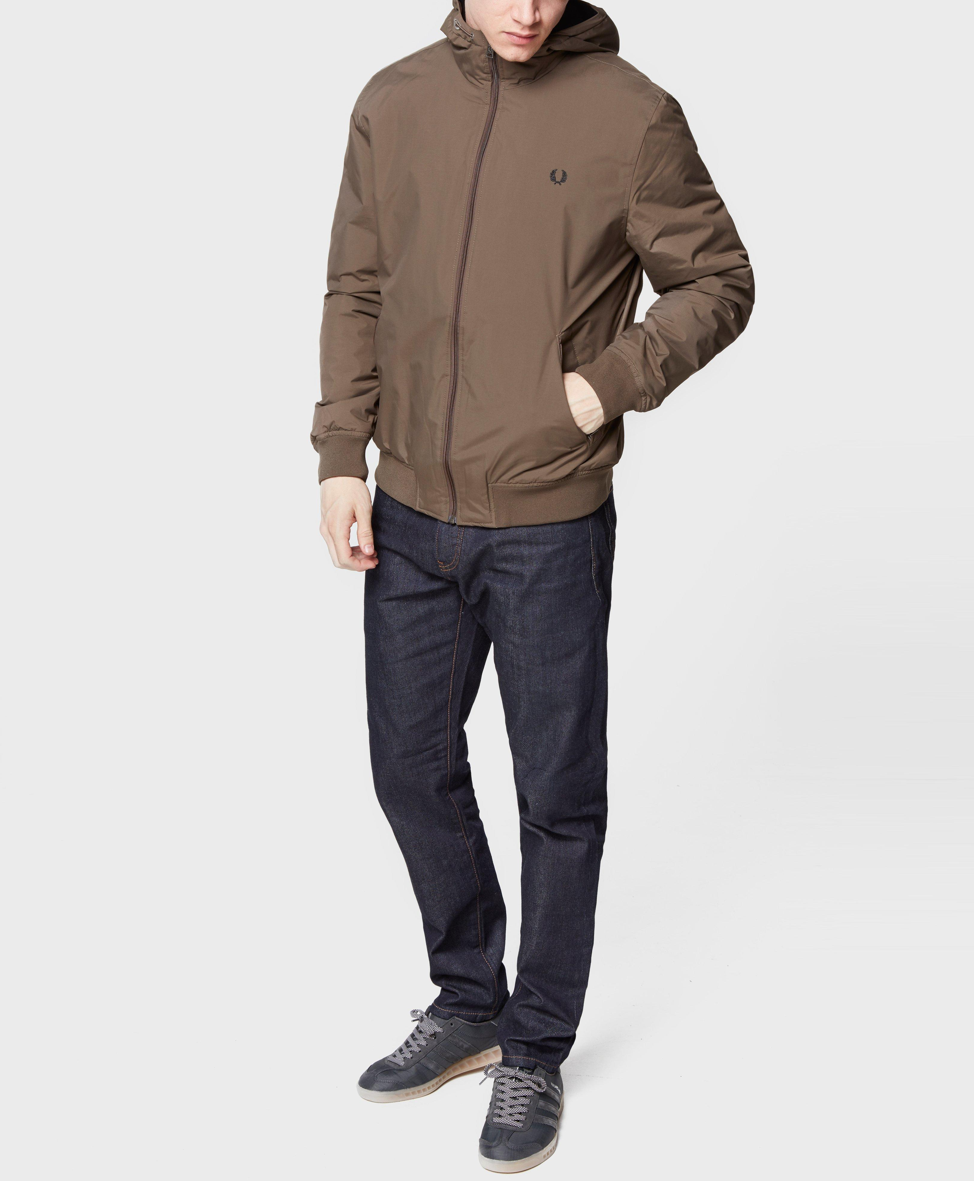 Fred Perry Synthetic Hooded Brentham Lightweight Jacket - Exclusive for Men