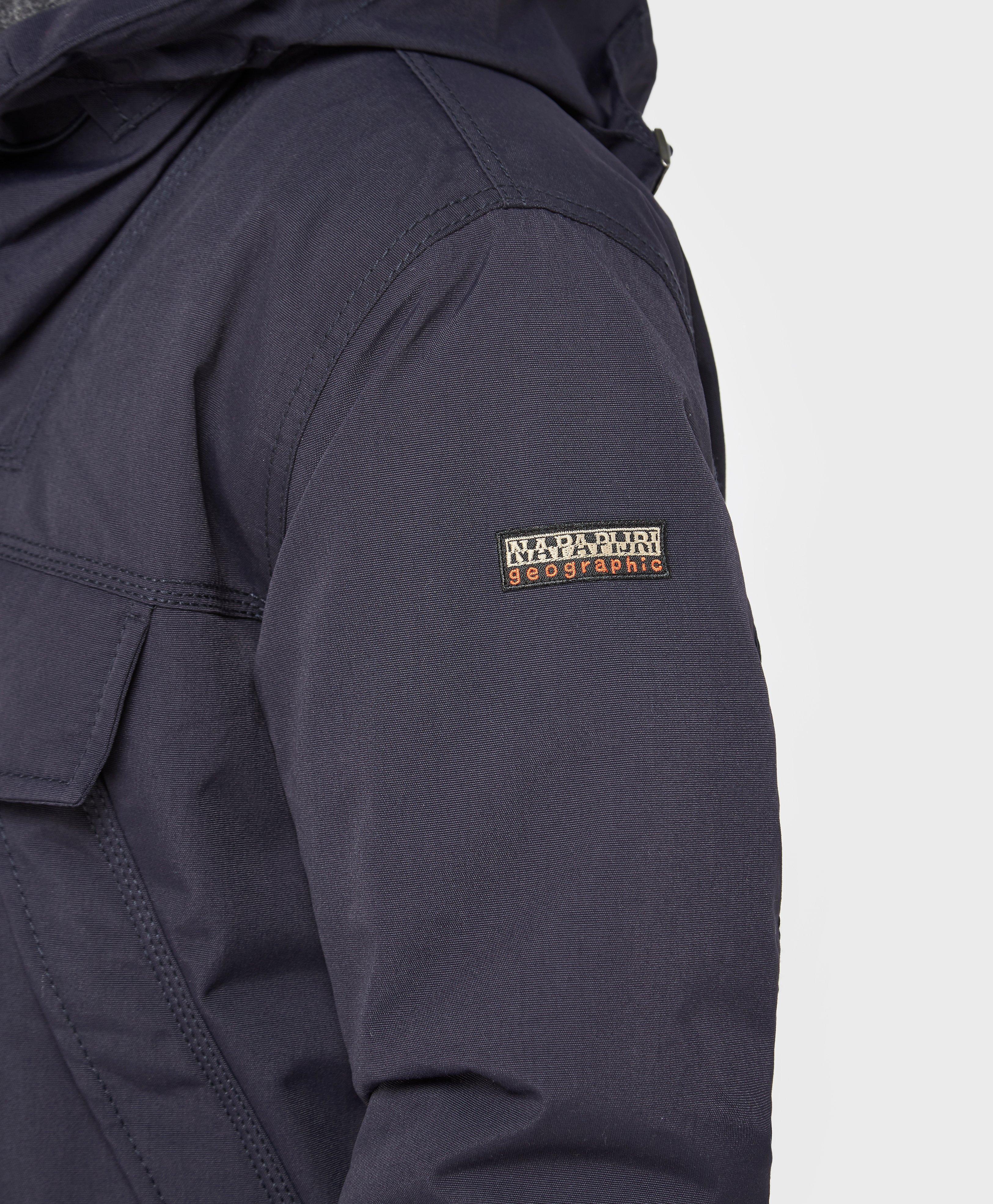 Napapijri Fleece Skidoo Padded Jacket in Blue for Men