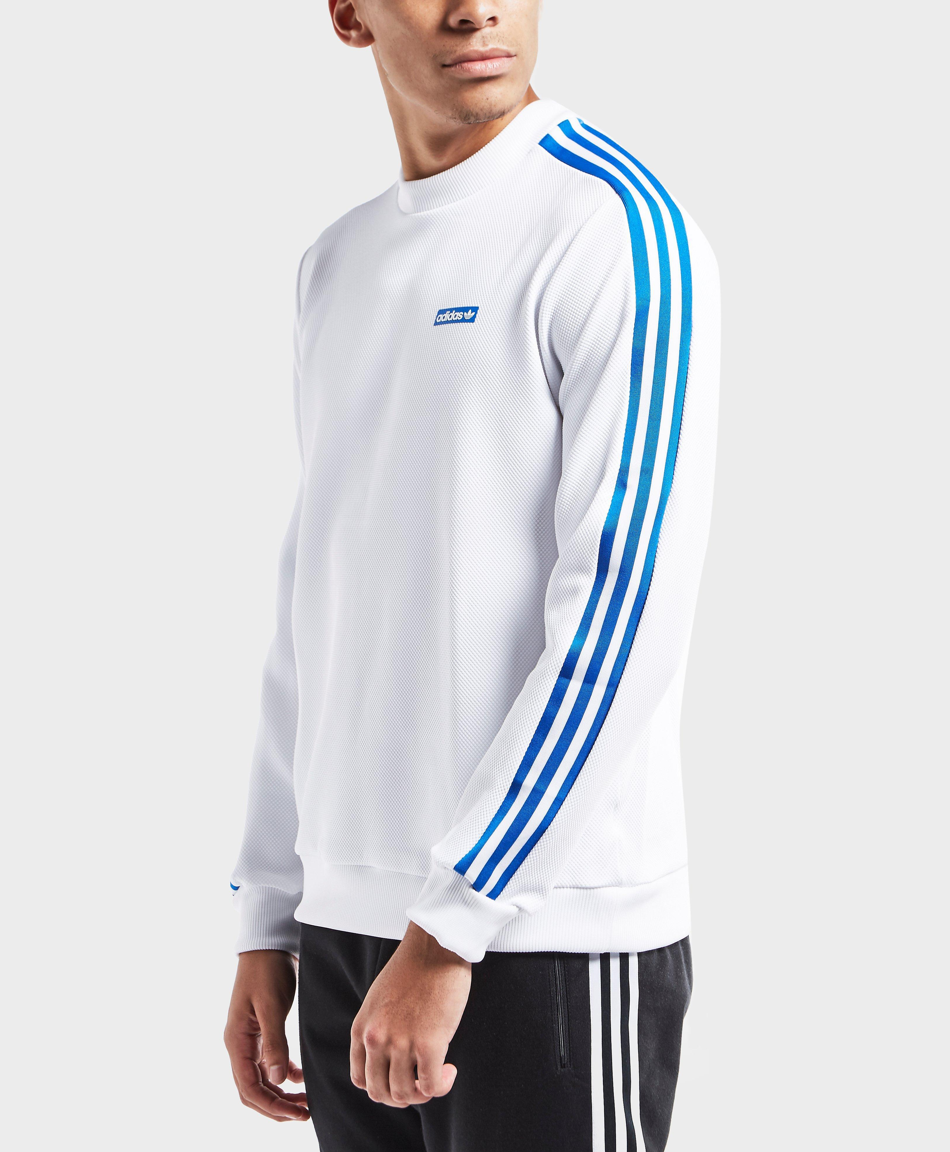 2573c71b Adidas Originals Blue Tennoji Crew Sweatshirt for men