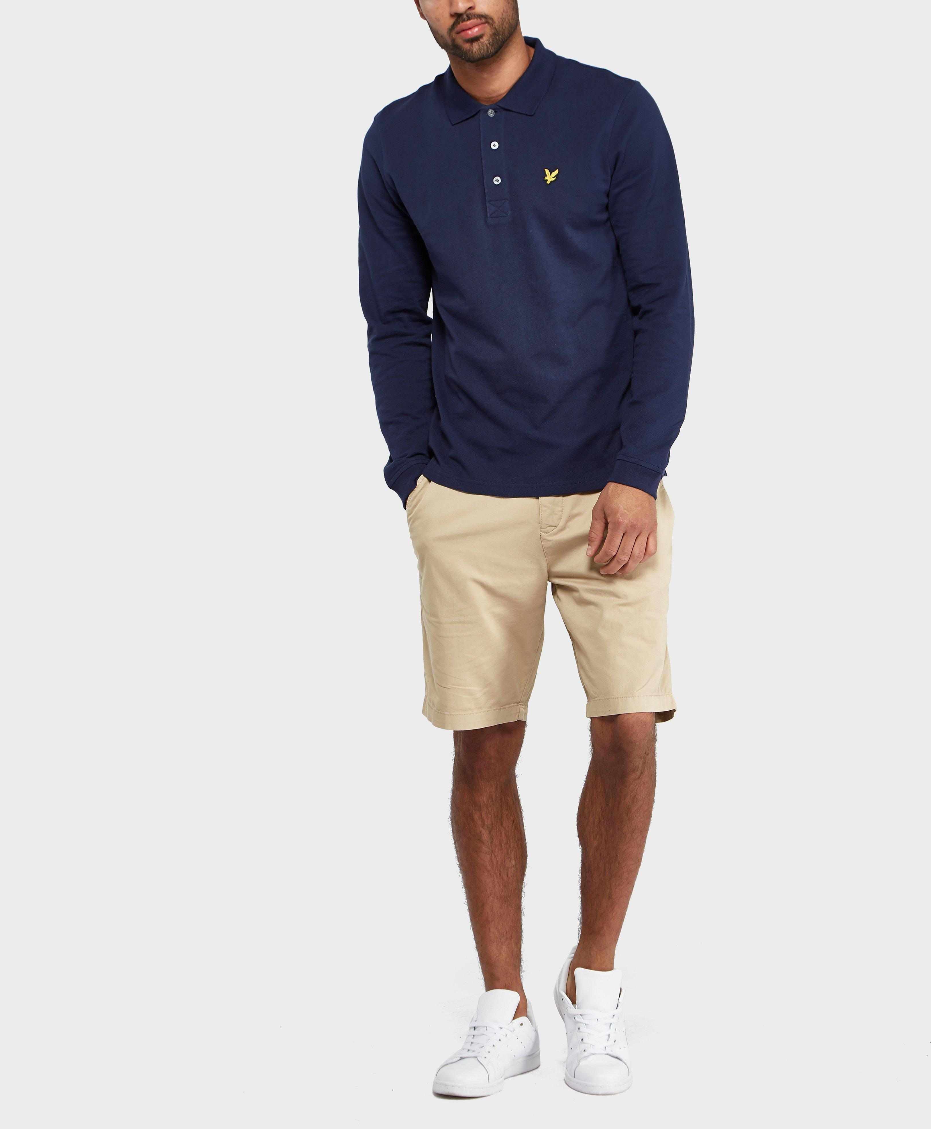 Lyst Lyle Scott Chino Shorts In Natural For Men