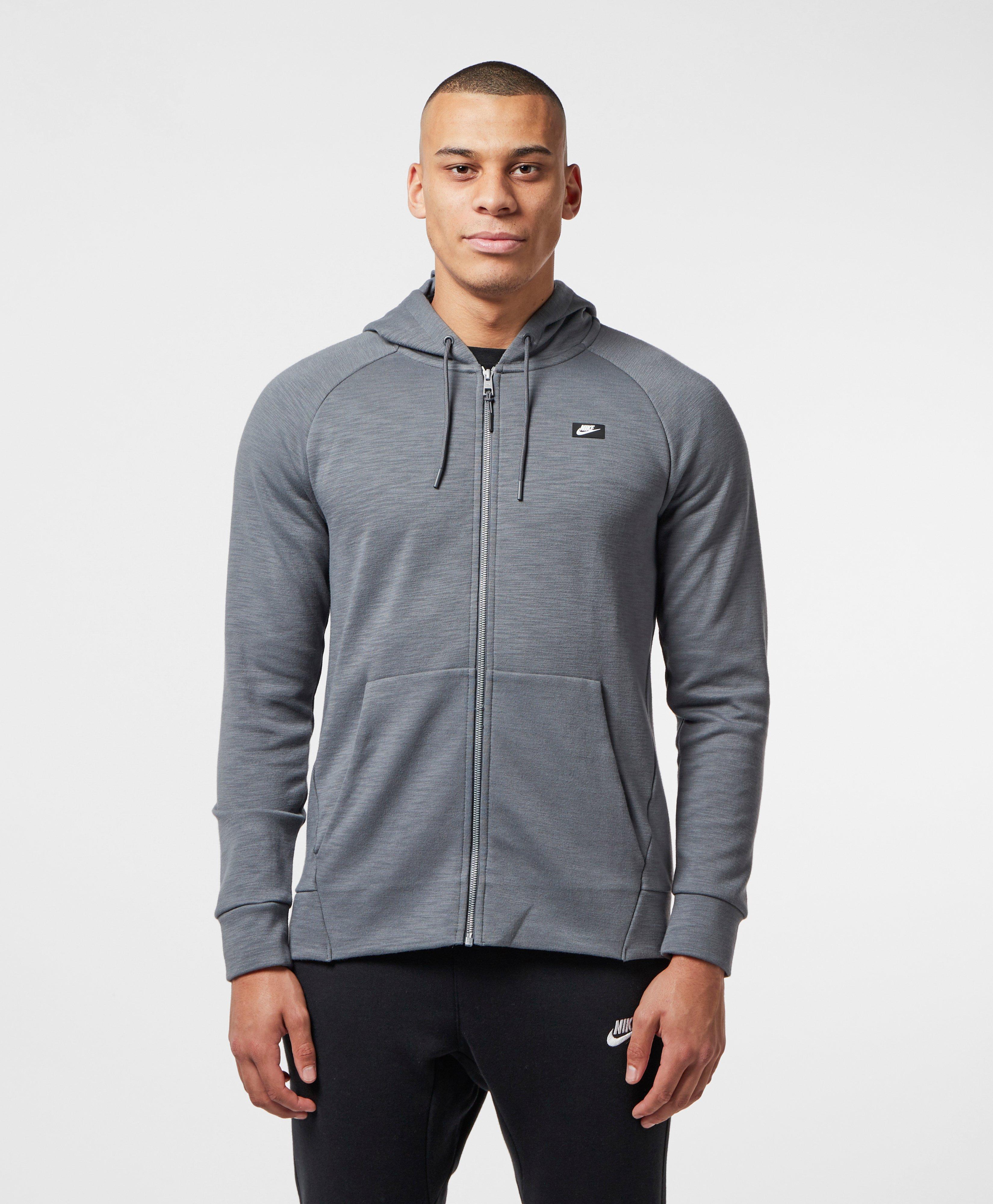 2f38ff6b Nike Optic Full Zip Hoodie in Gray for Men - Lyst