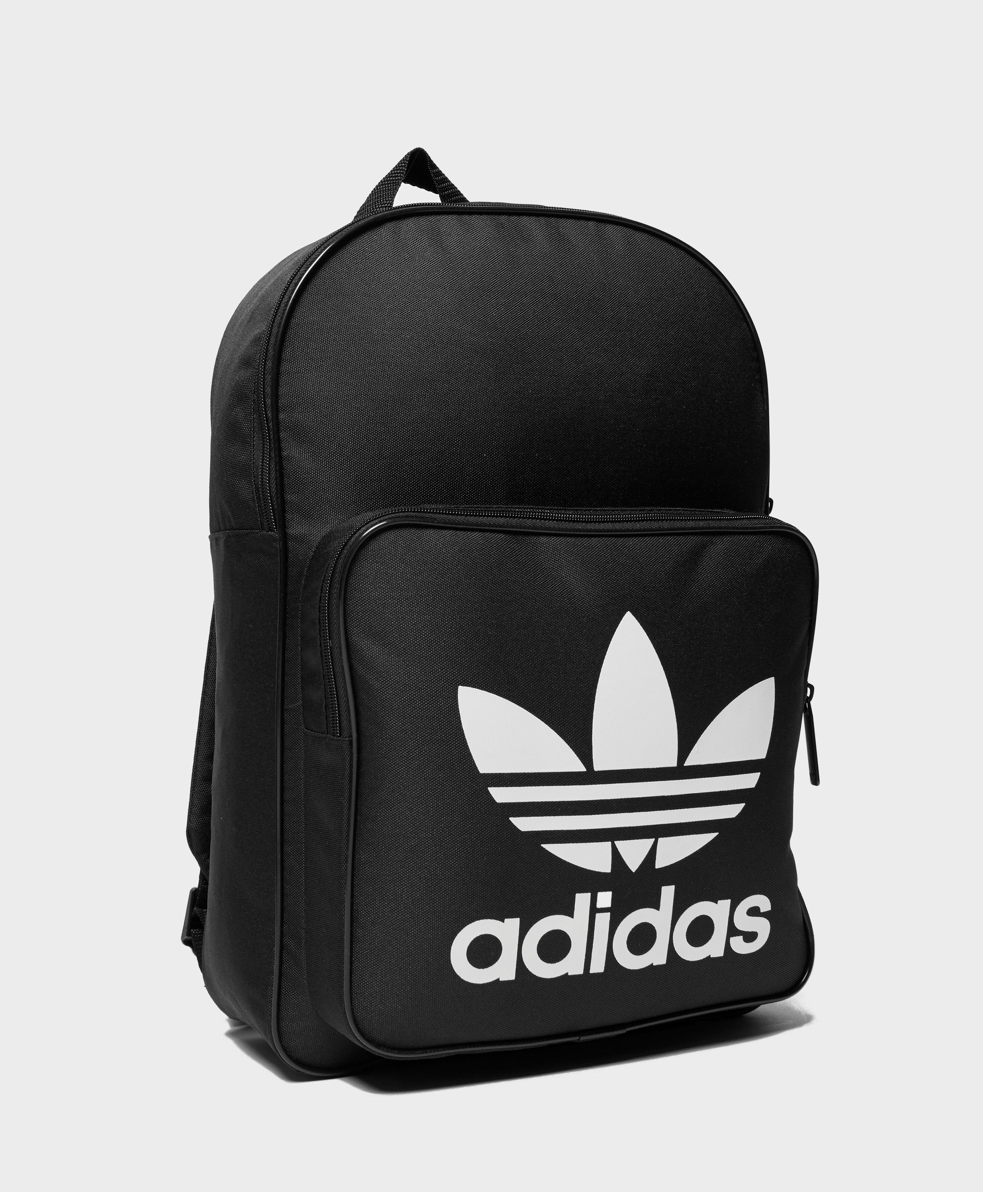 f3746fac47 adidas Originals Trefoil Backpack In Black With Front Pocket Bk6723 in Black  for Men - Save 21% - Lyst