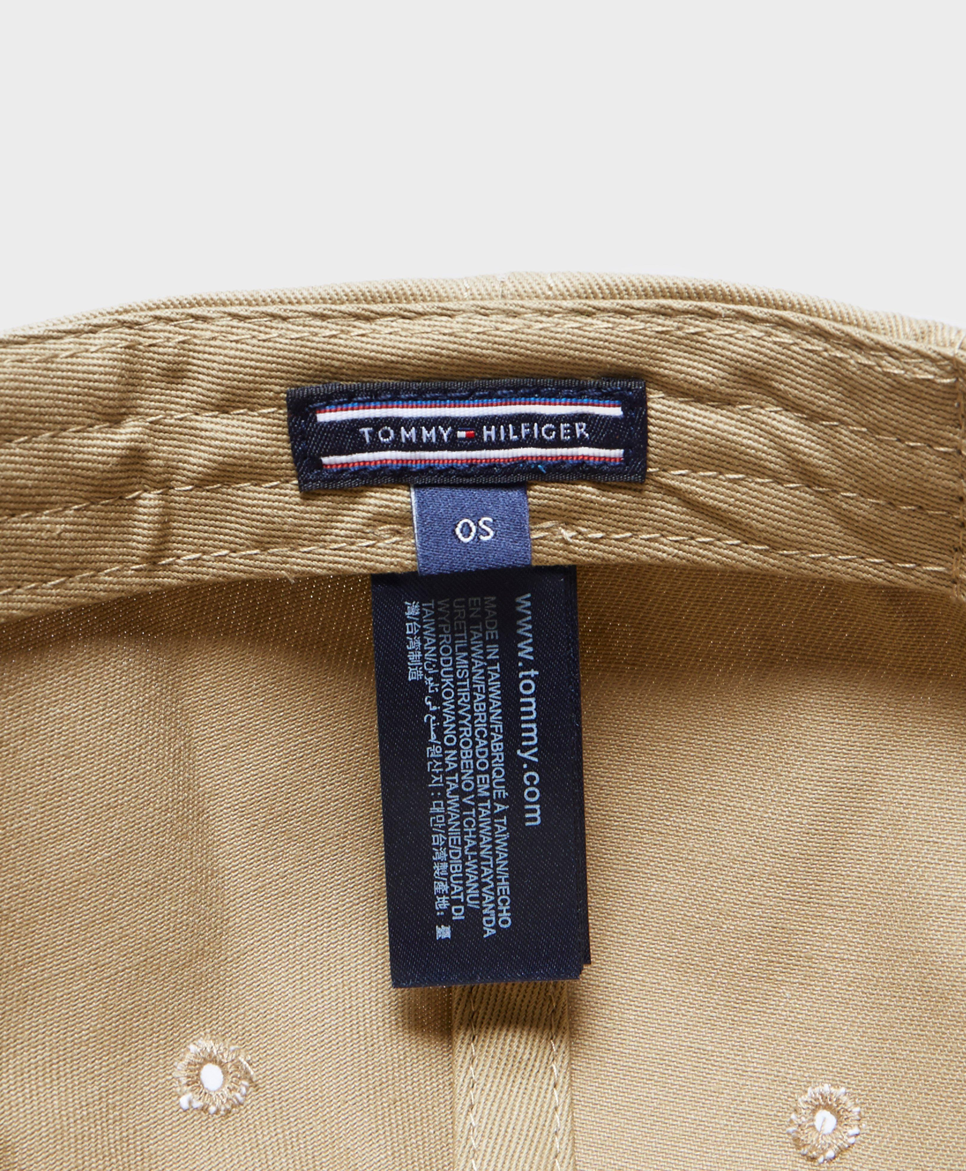 6caebd4907ebf Tommy Hilfiger Small Logo Baseball Cap in Natural for Men - Lyst